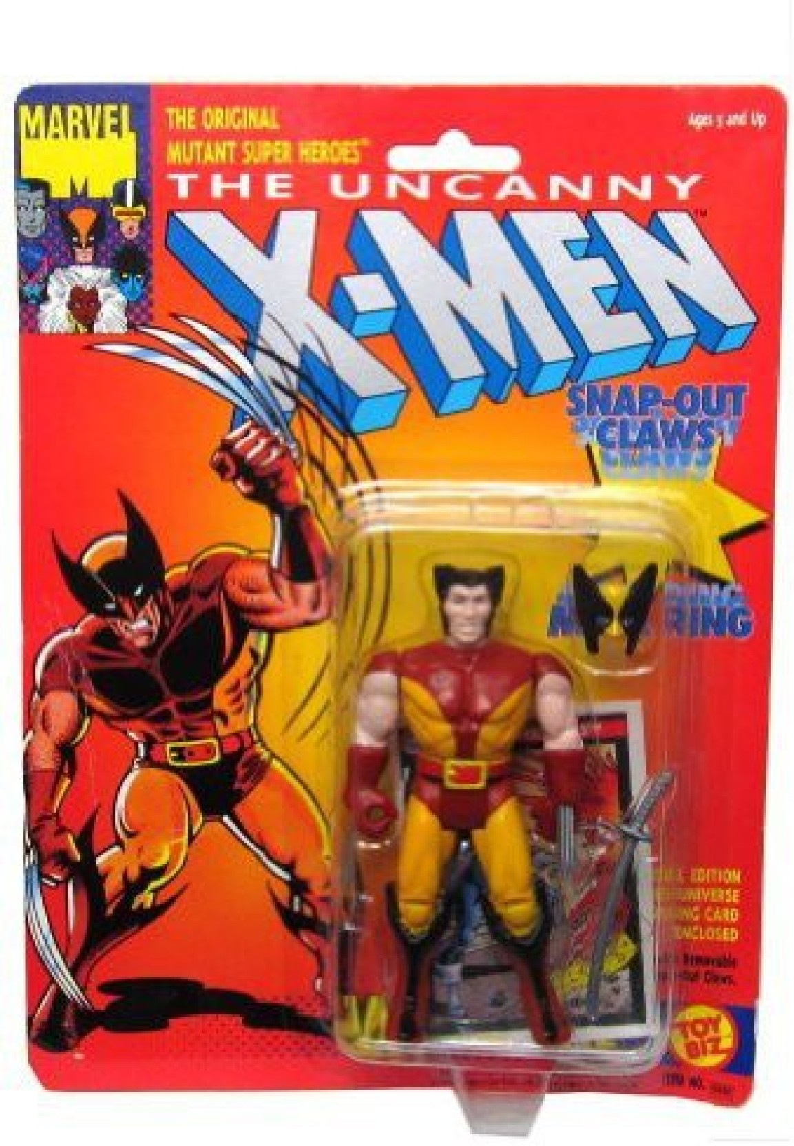 Marvel Minimates Uncanny X-Men Battle Ravaged Wolverine