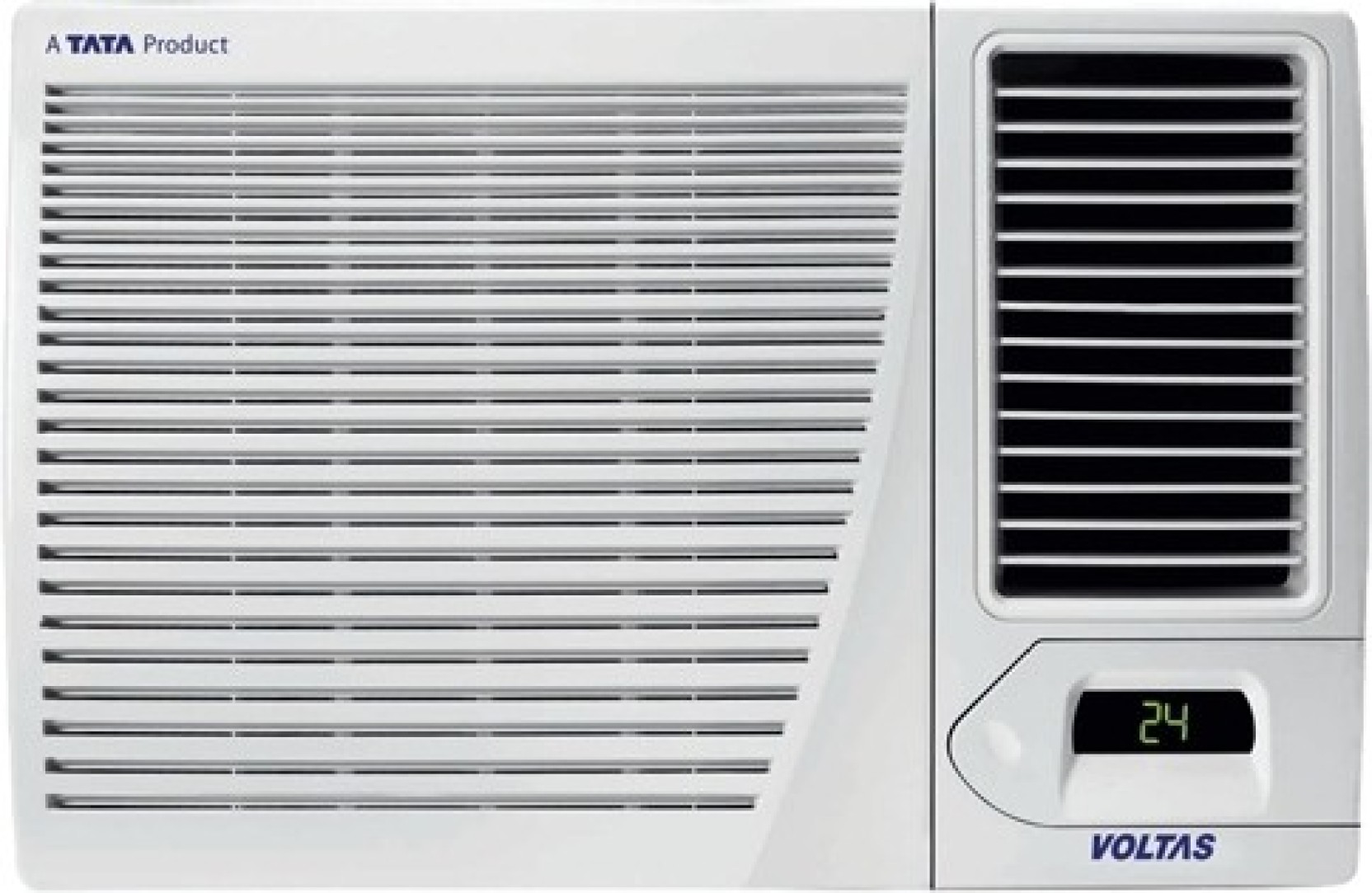 buy voltas 1 5 ton 3 star window ac white