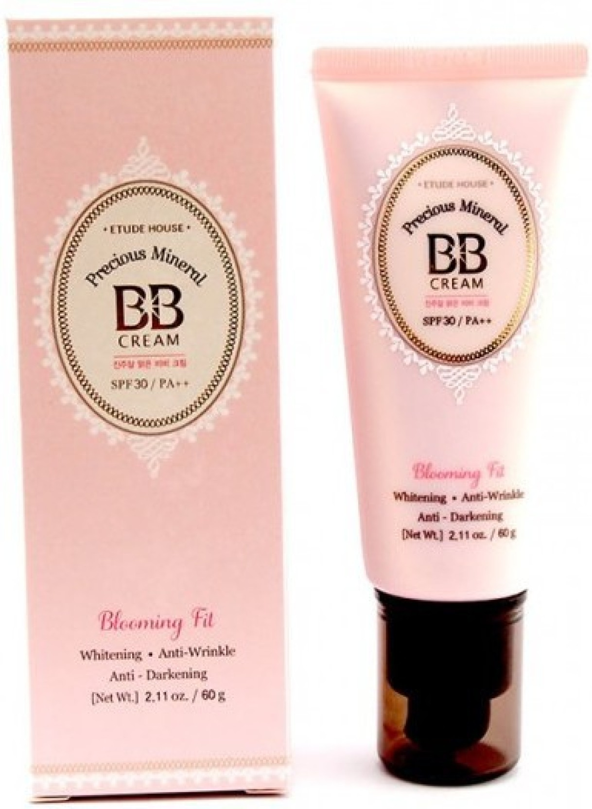 Etude House BB Cream Natural Beige W13 Blomming Fit: Buy Etude House ...