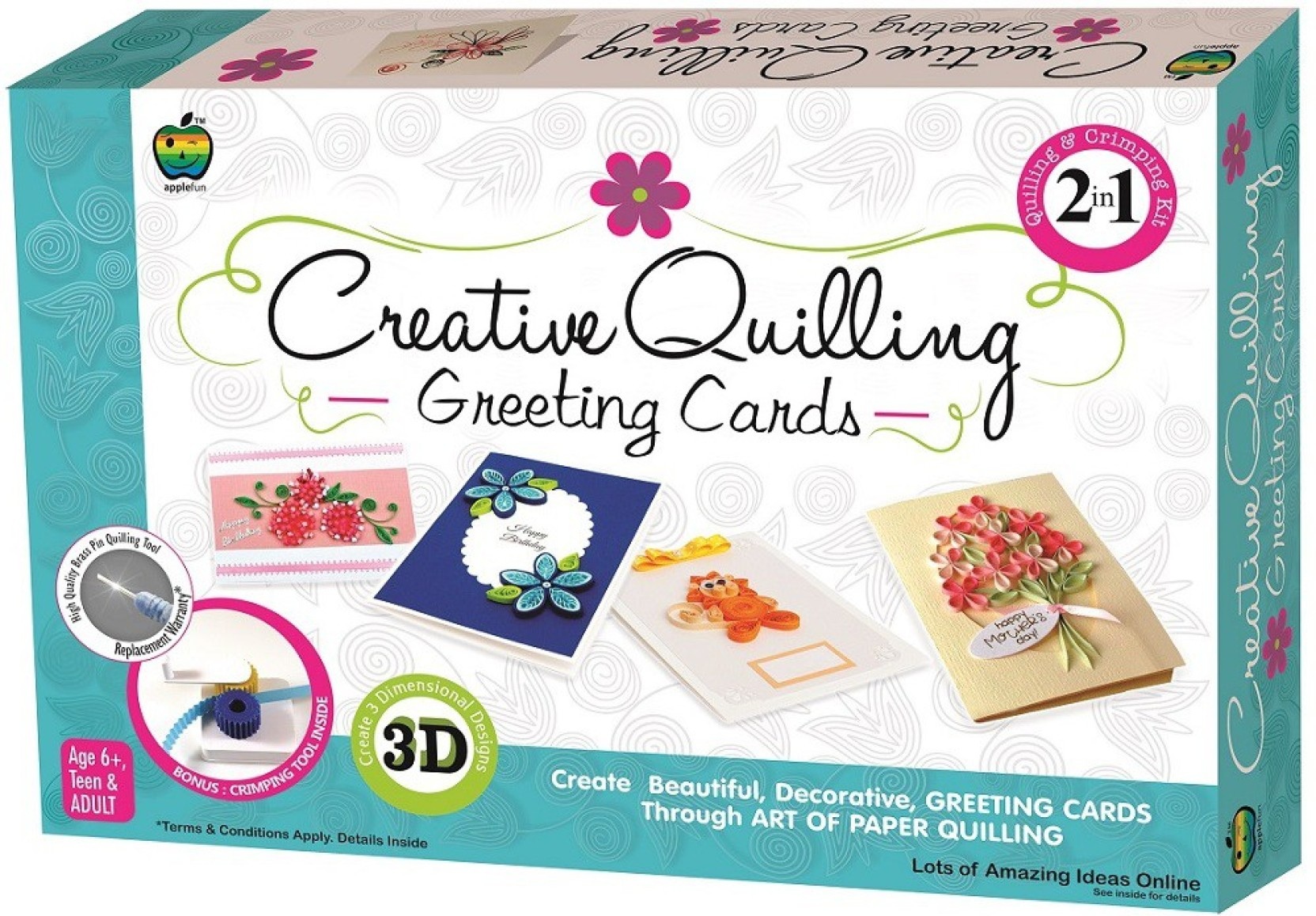 Apple Fun Creative Quilling Greeting Cards Creative Quilling