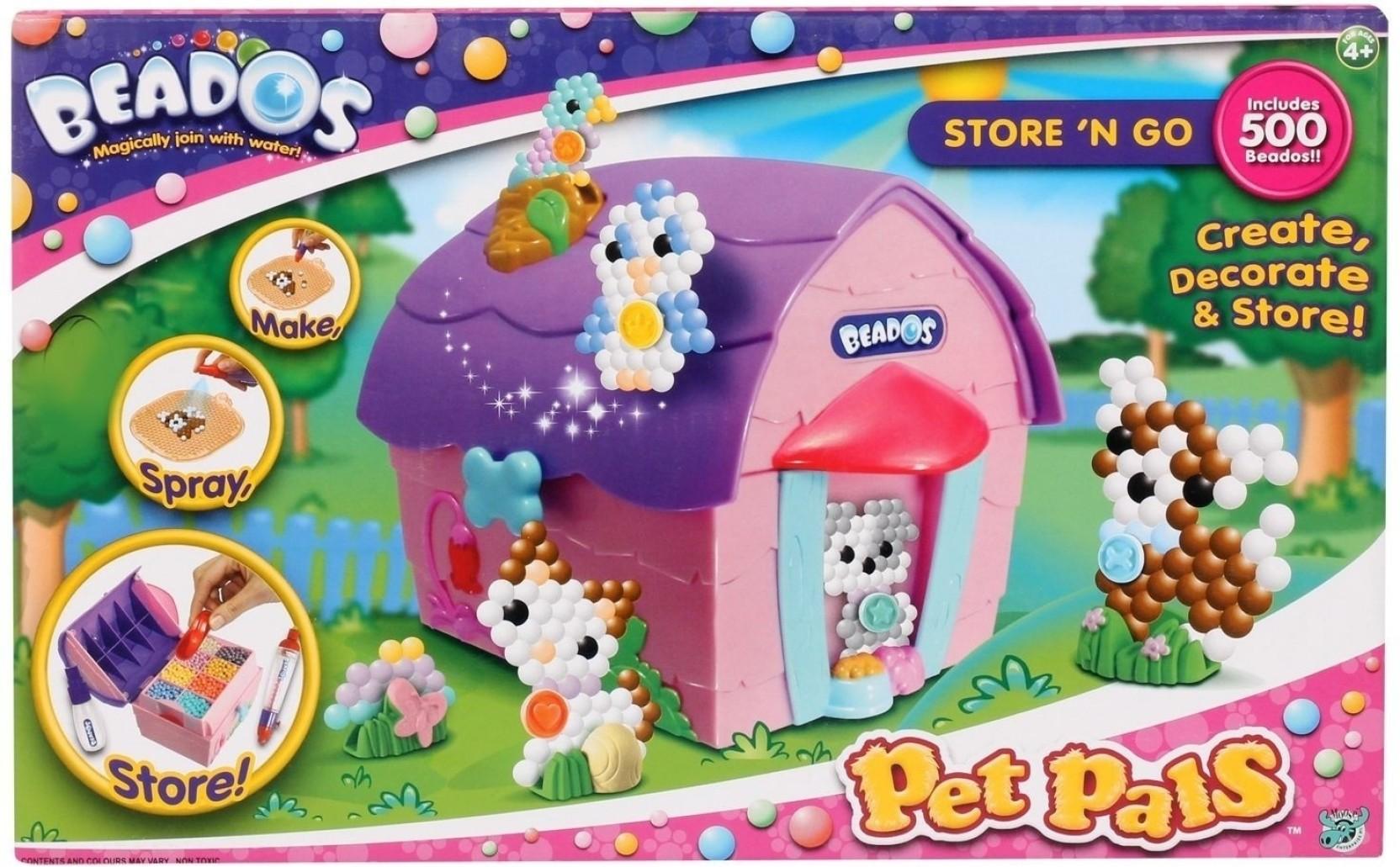 Girl Beados Toys : Beados pet pals store n go shop