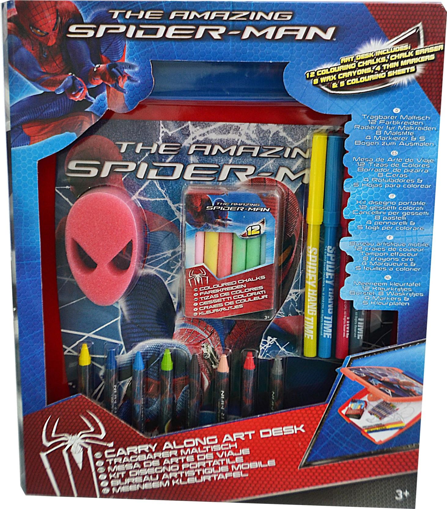 Kleurplaten Spiderman 4.Simba Sambro Spiderman 4 Carry Along Art Desk Sambro Spiderman
