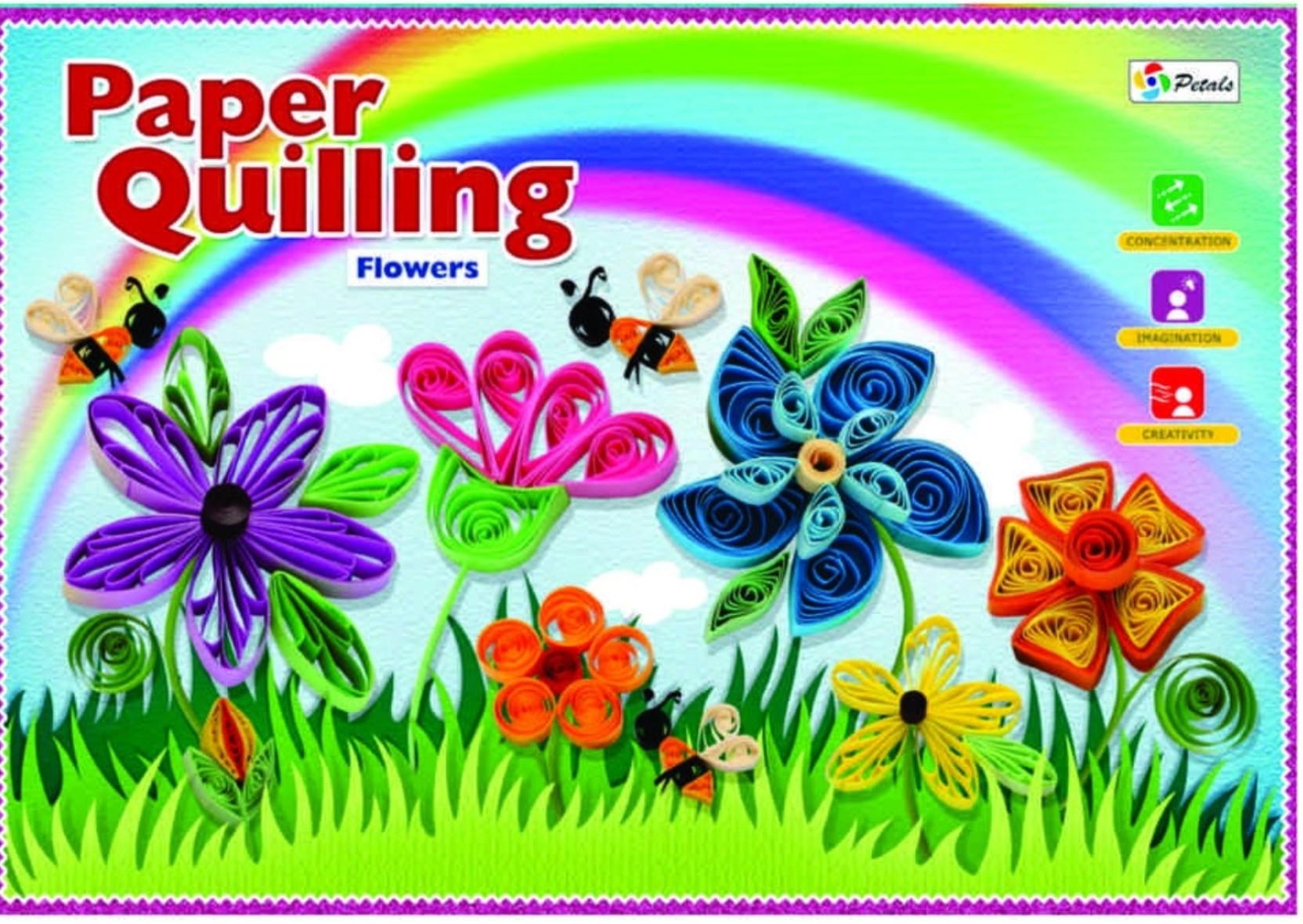 Petals Paper Quilling Flower Paper Quilling Flower Shop For
