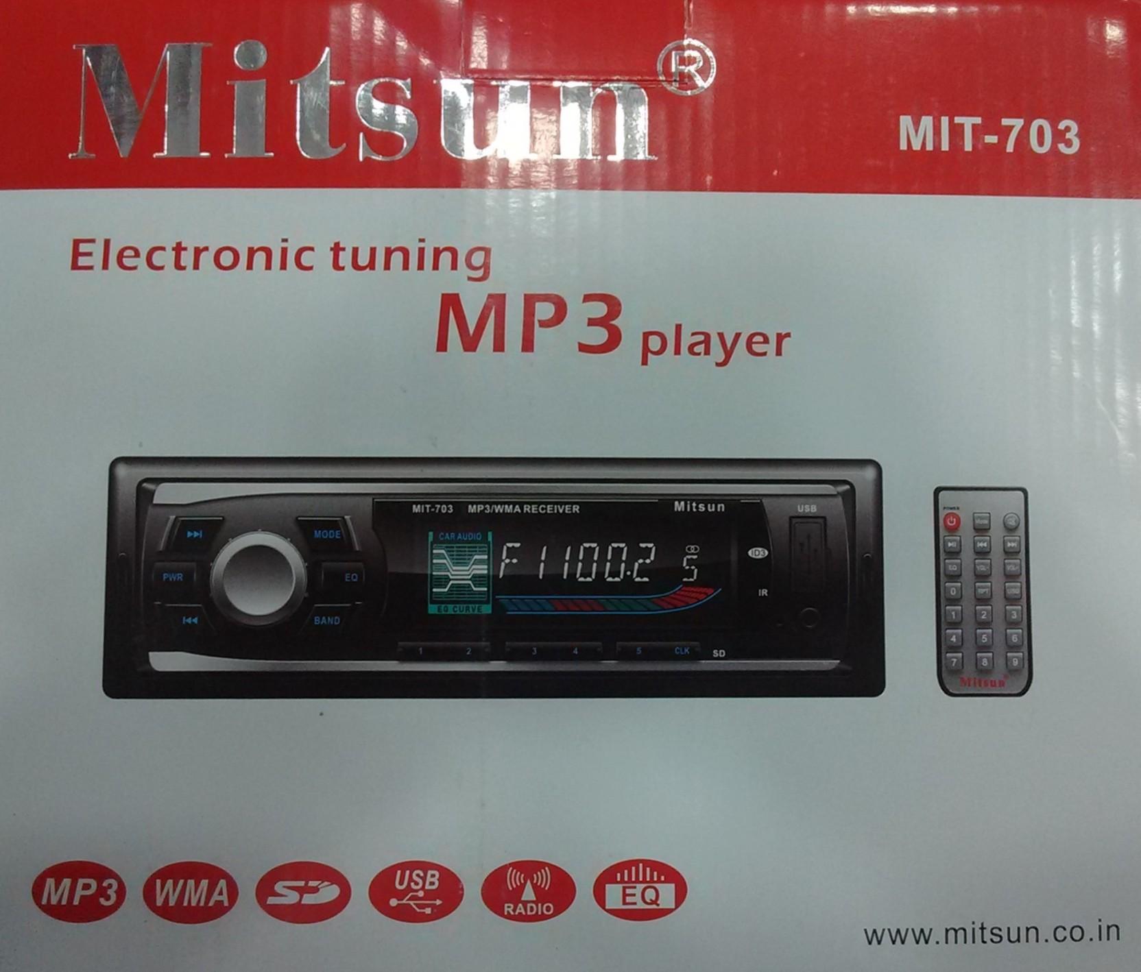 MITSUN Mitsun USB/AUX stereo player, 4