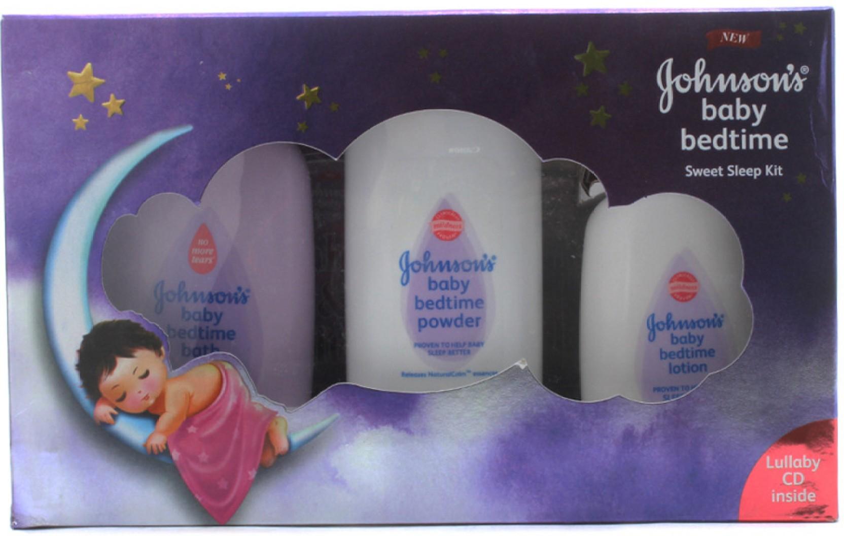 Johnson S Baby Bedtime Sweet Sleep Kit Buy Baby Care