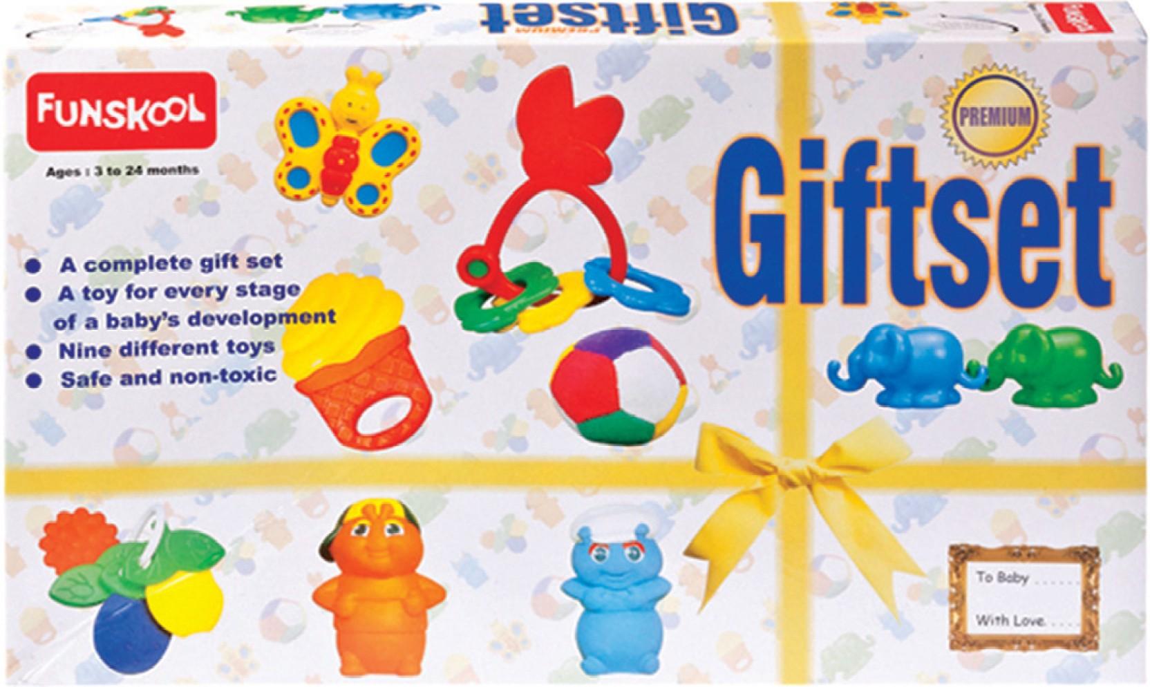 Baby Gift Set Flipkart : Giggles gift set premium rattle price in india buy