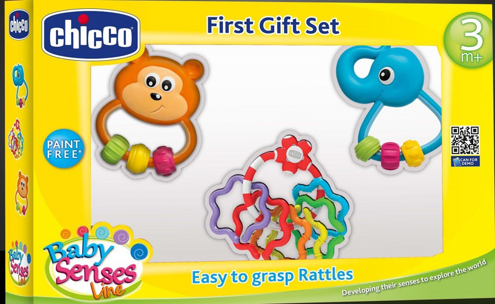 Chicco Baby Senses Line Rattle Price In India Buy Babby Essentials Set For Girl Free Teether On Offer