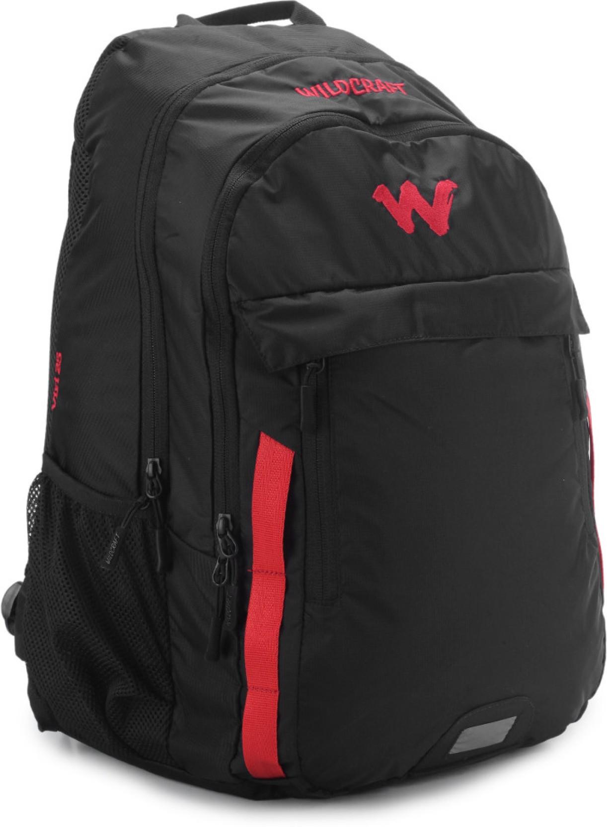 wildcraft viri laptop backpack black price in india
