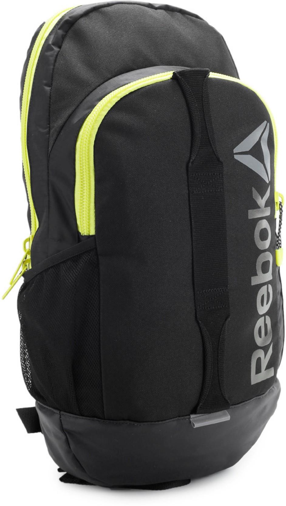 Reebok Black Backpack - Buy Reebok Black Backpack Online ...  |Reebok Backpack