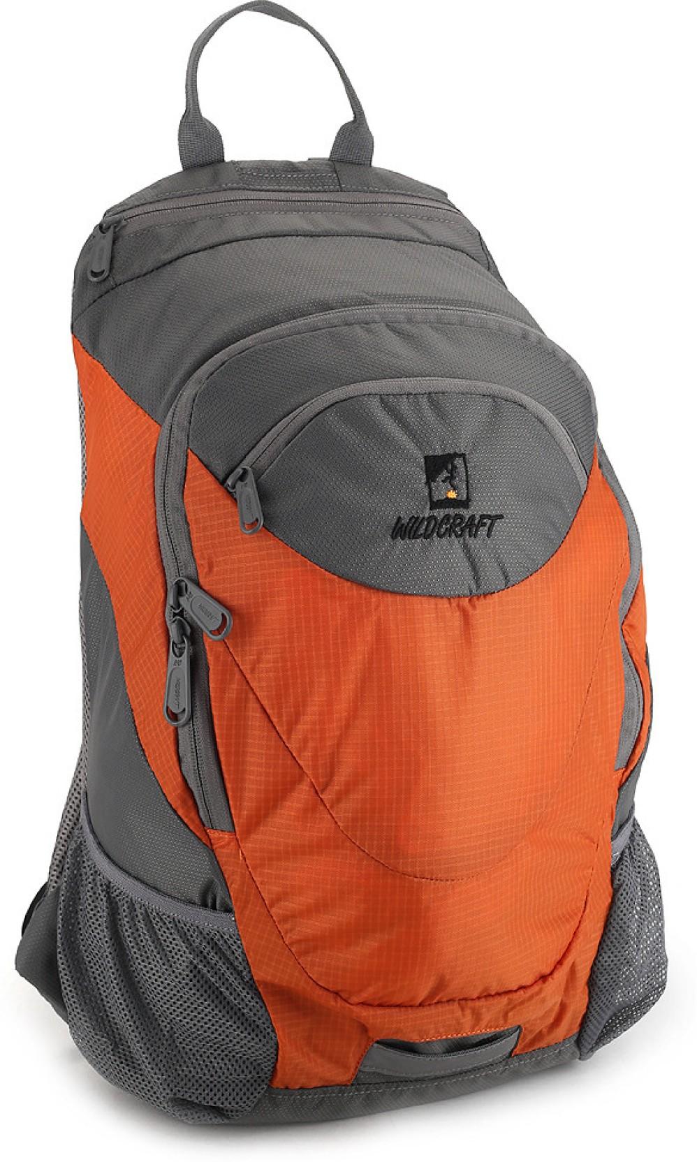 wildcraft daypack a4 20 l backpack orange price in india