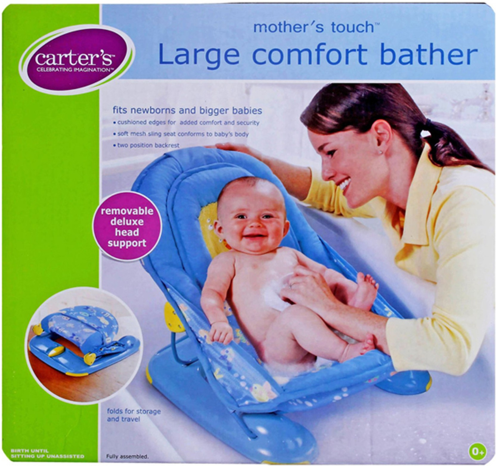 Carter\'s Mother\'s Touch Large Comfort Bather Baby Bath Seat Price in ...