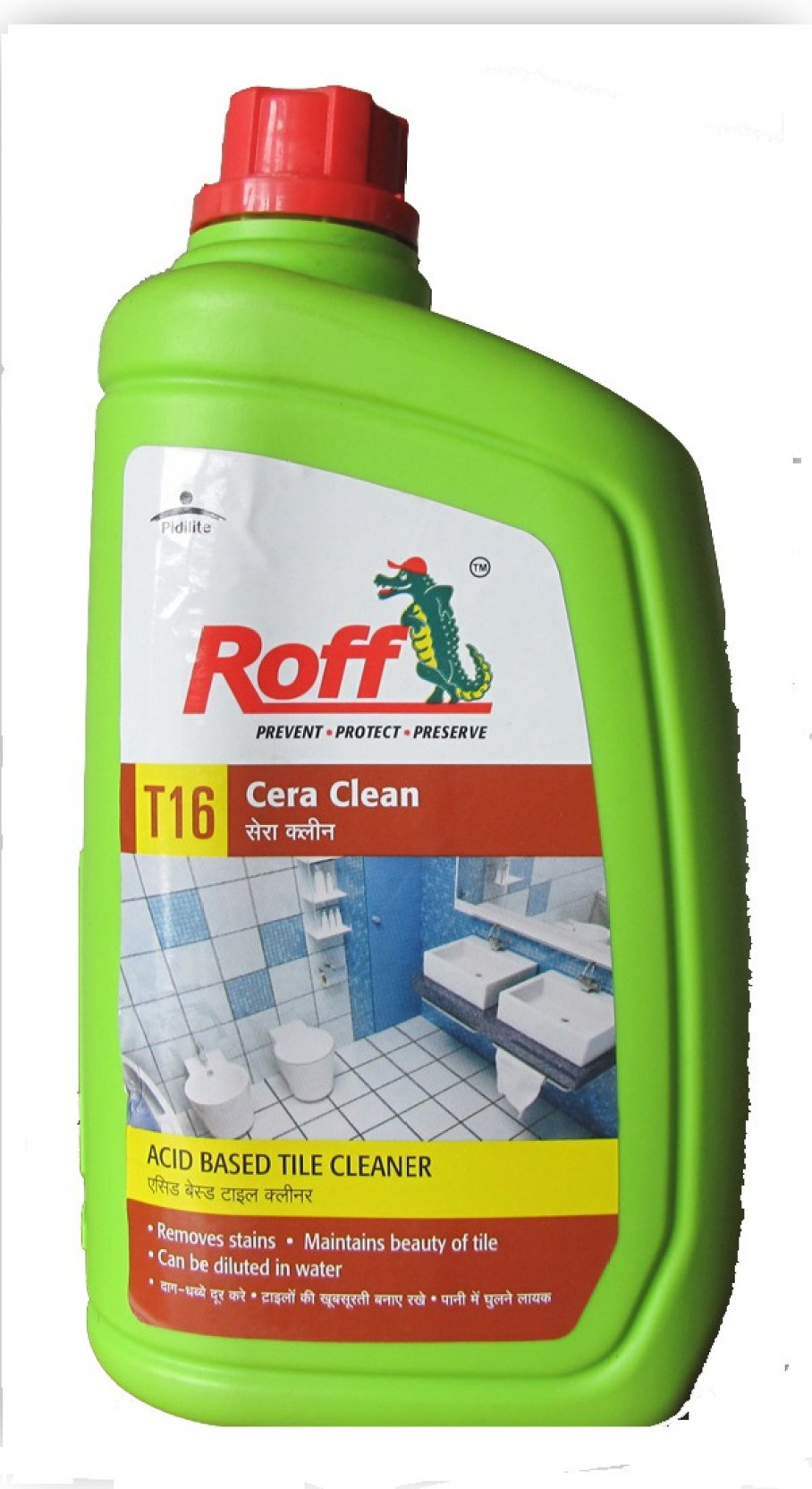 Roff cera clean regular floor cleaner price in india buy for Bathroom floor cleaning products
