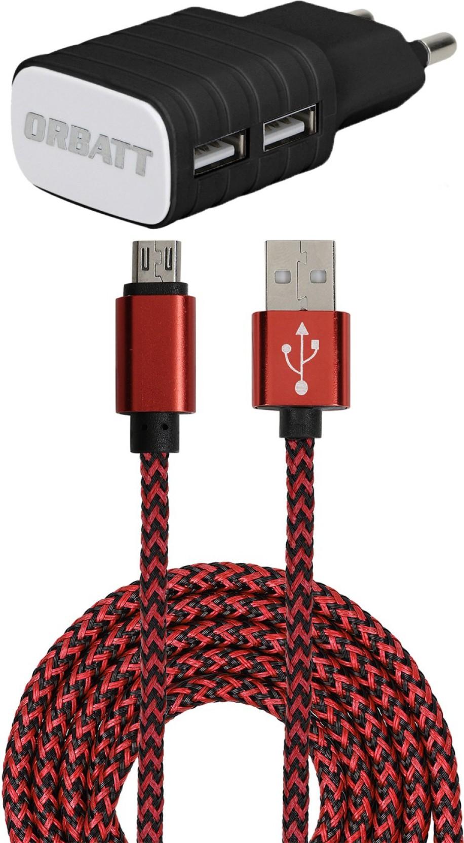 Orbatt Dual Usb Port Asus Zenfone 2 Laser Ze601kl Mobile Charger Zb45 Share