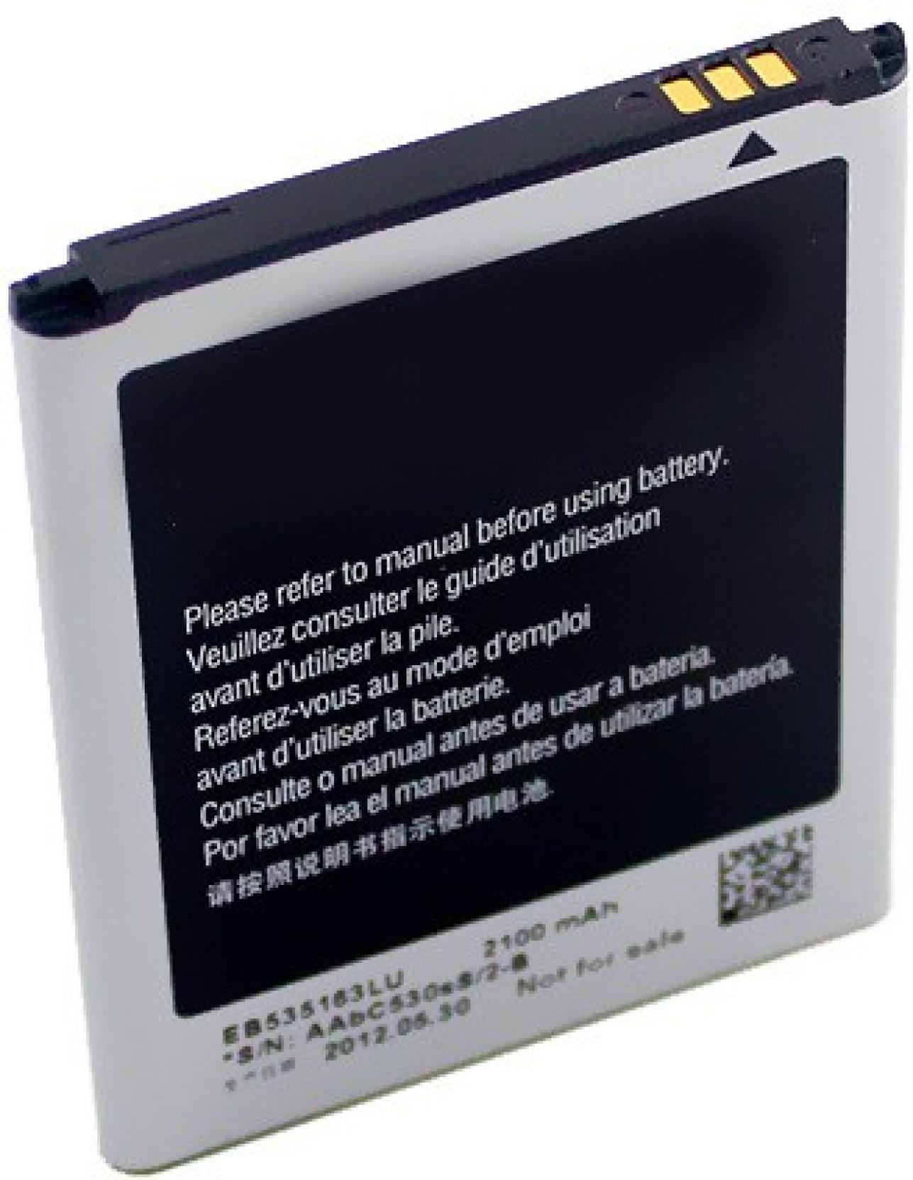 Samsung Mobile Battery For Samsung Galaxy Grand Duos i9082 EB535163LU ( 2100mAh). Share