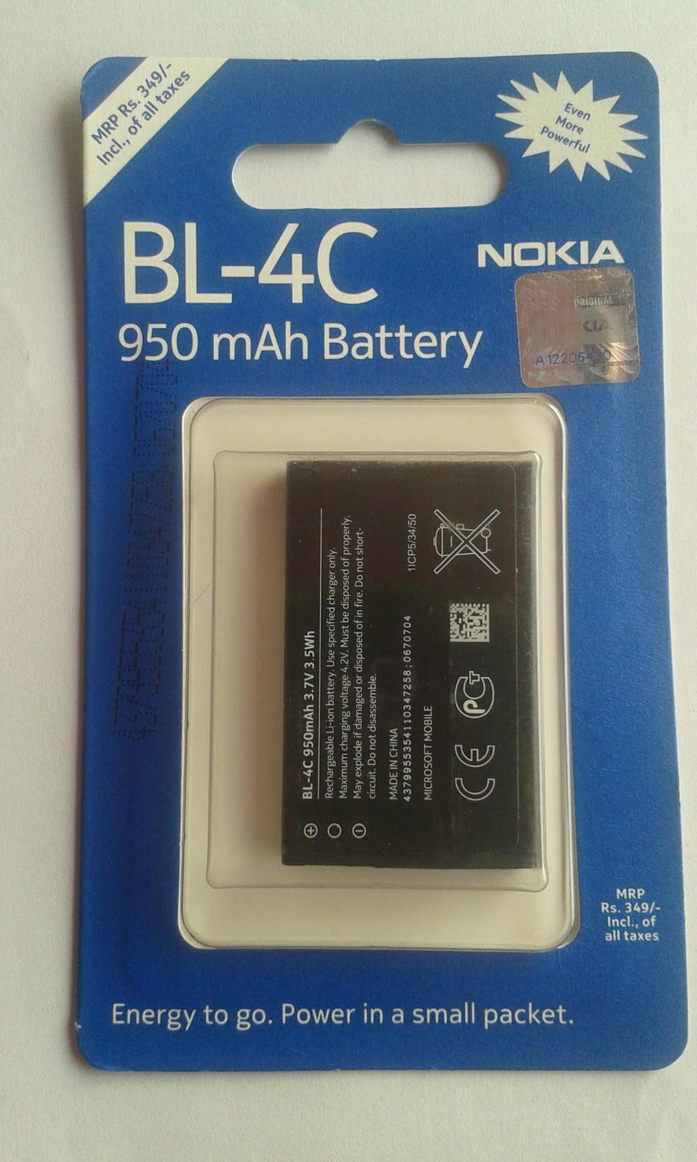 Nokia Bl 4c Battery Baterai Bl5c Bl4c