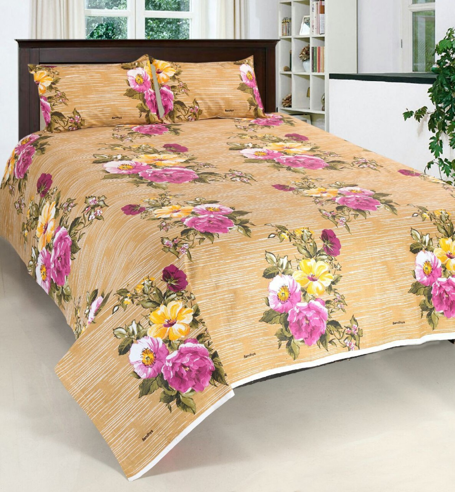 f56f74ed1 Shubh Cotton Double 3D Printed Bedsheet - Buy Shubh Cotton Double 3D ...