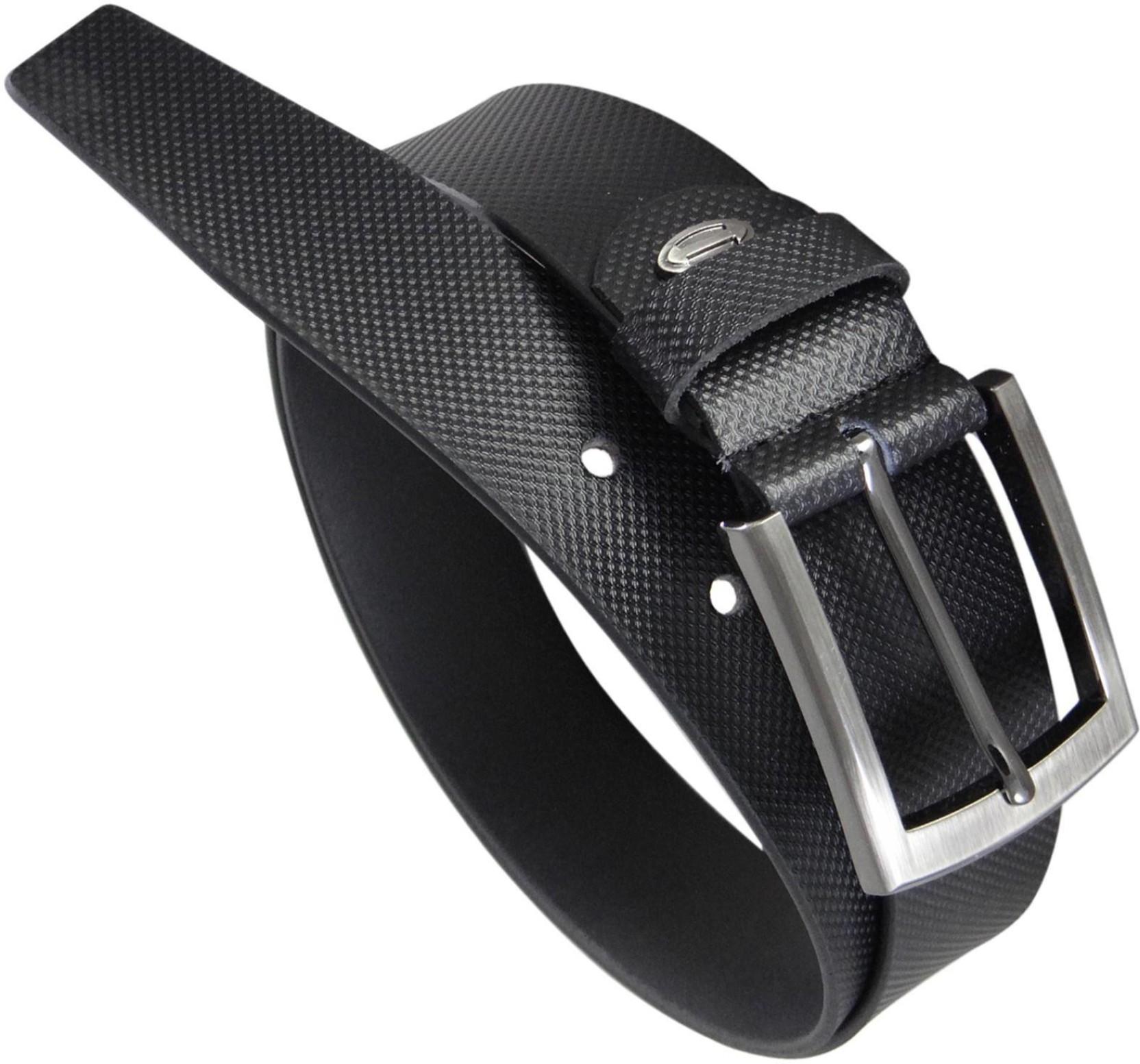 de1b4a6ddcaf Midas Men Formal Black Genuine Leather Belt Black - Price in India ...