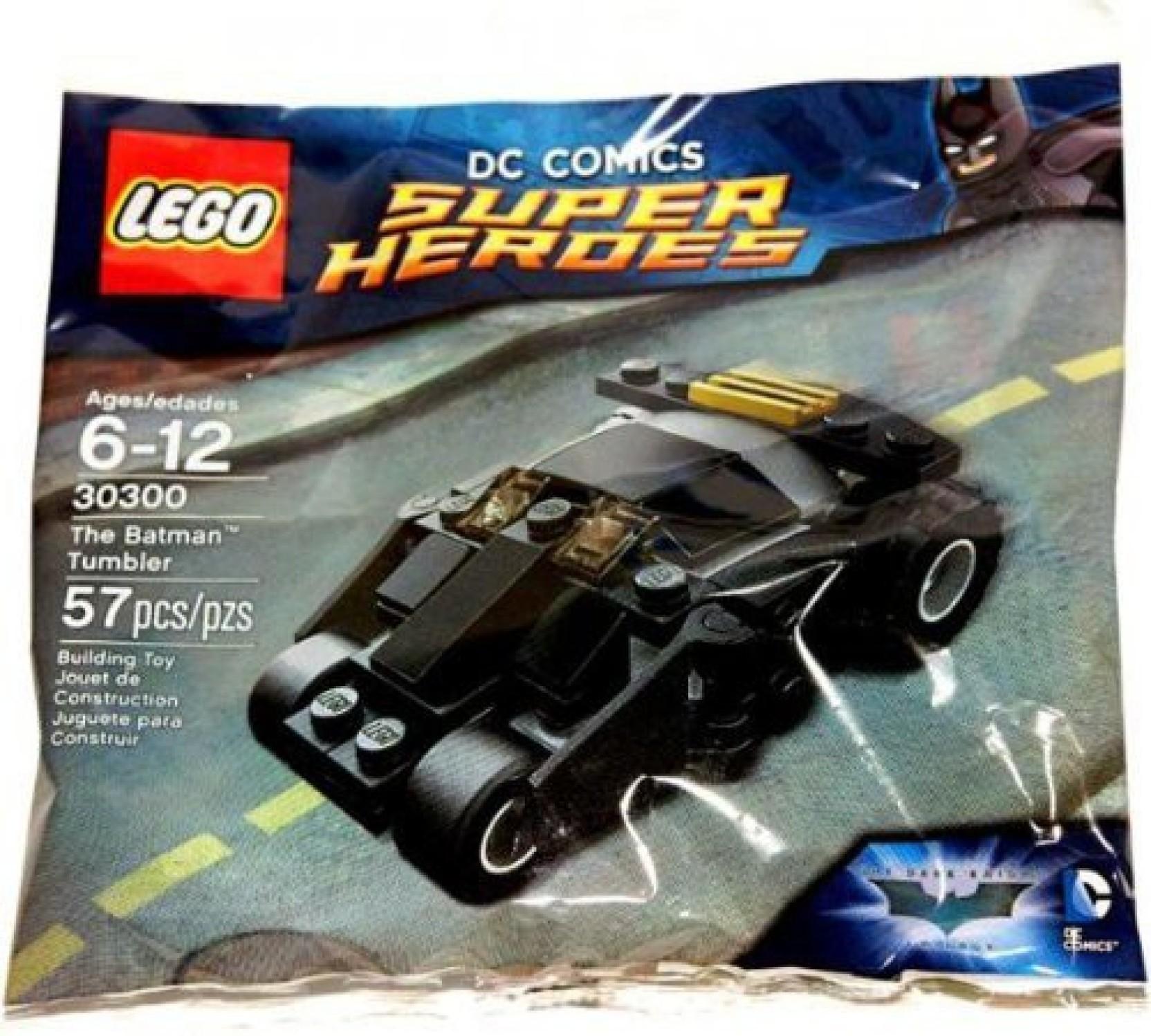 Tumbler Dc Lego Comics Batman Heroes Super Set 30300 1FKJTlc