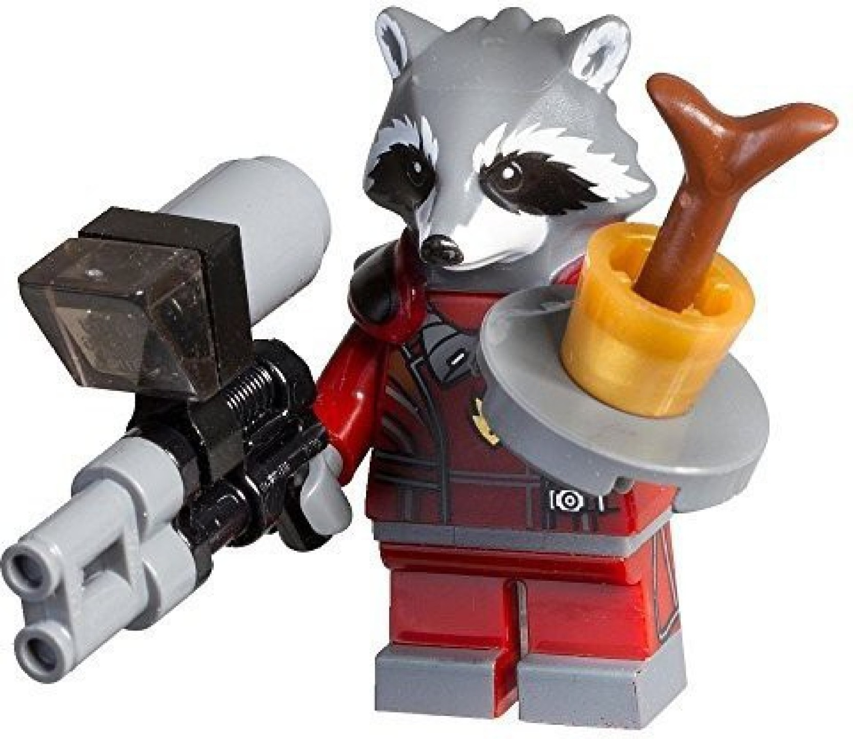 Guardians Of The Galaxy Lego Exclusive Rocket Raccoon Figure Super Deluxe Vinyl Bagged Add To Cart