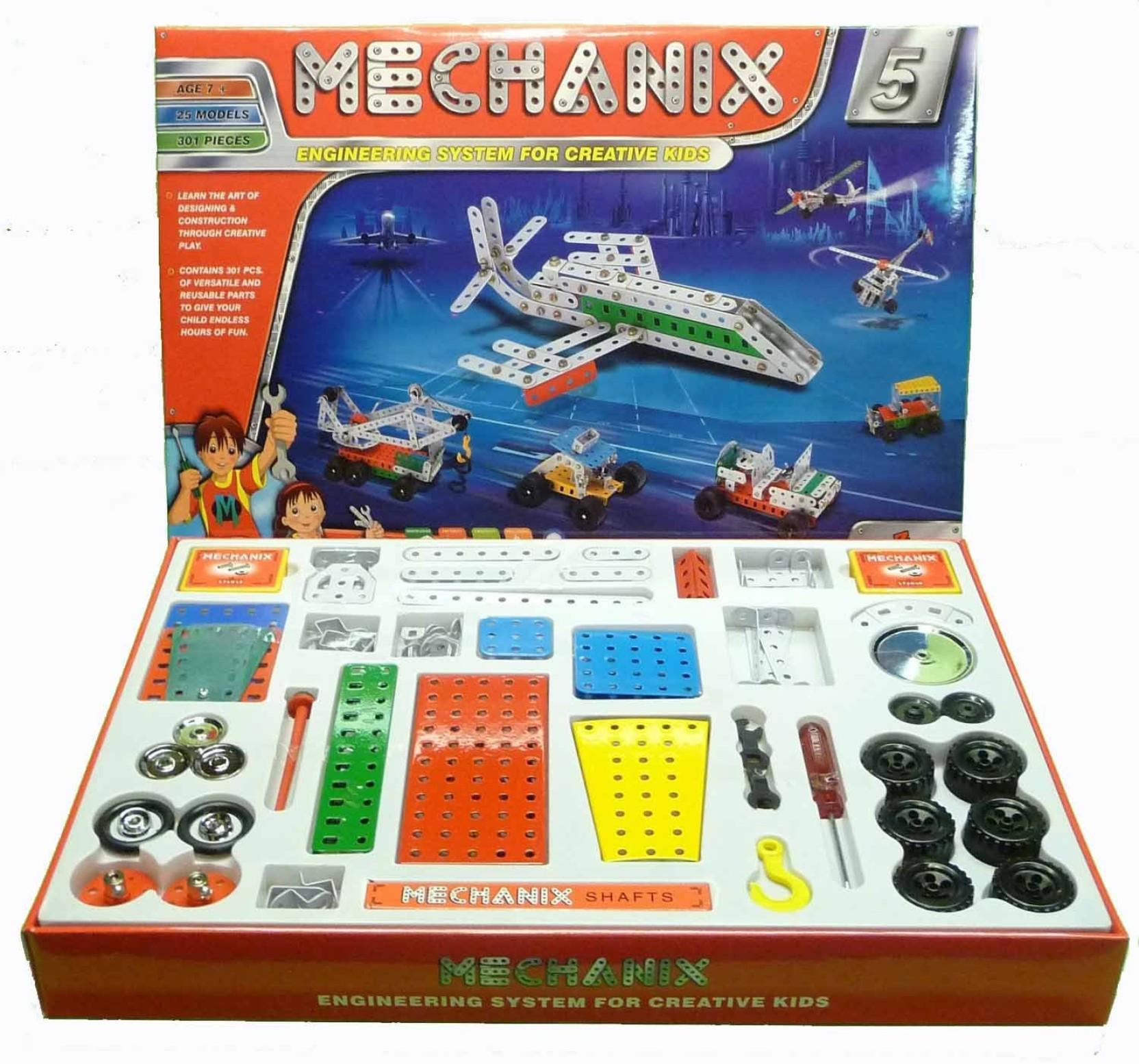 Zephyr Mechanix 5 engineering system for creative kids Mechanix