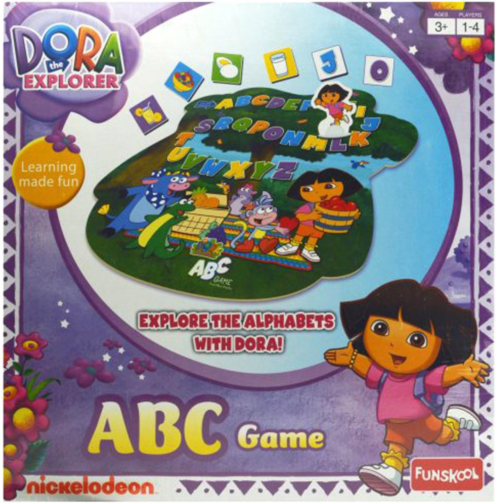 Funskool Dora the Explorer ABC Game Educational Game for Kids