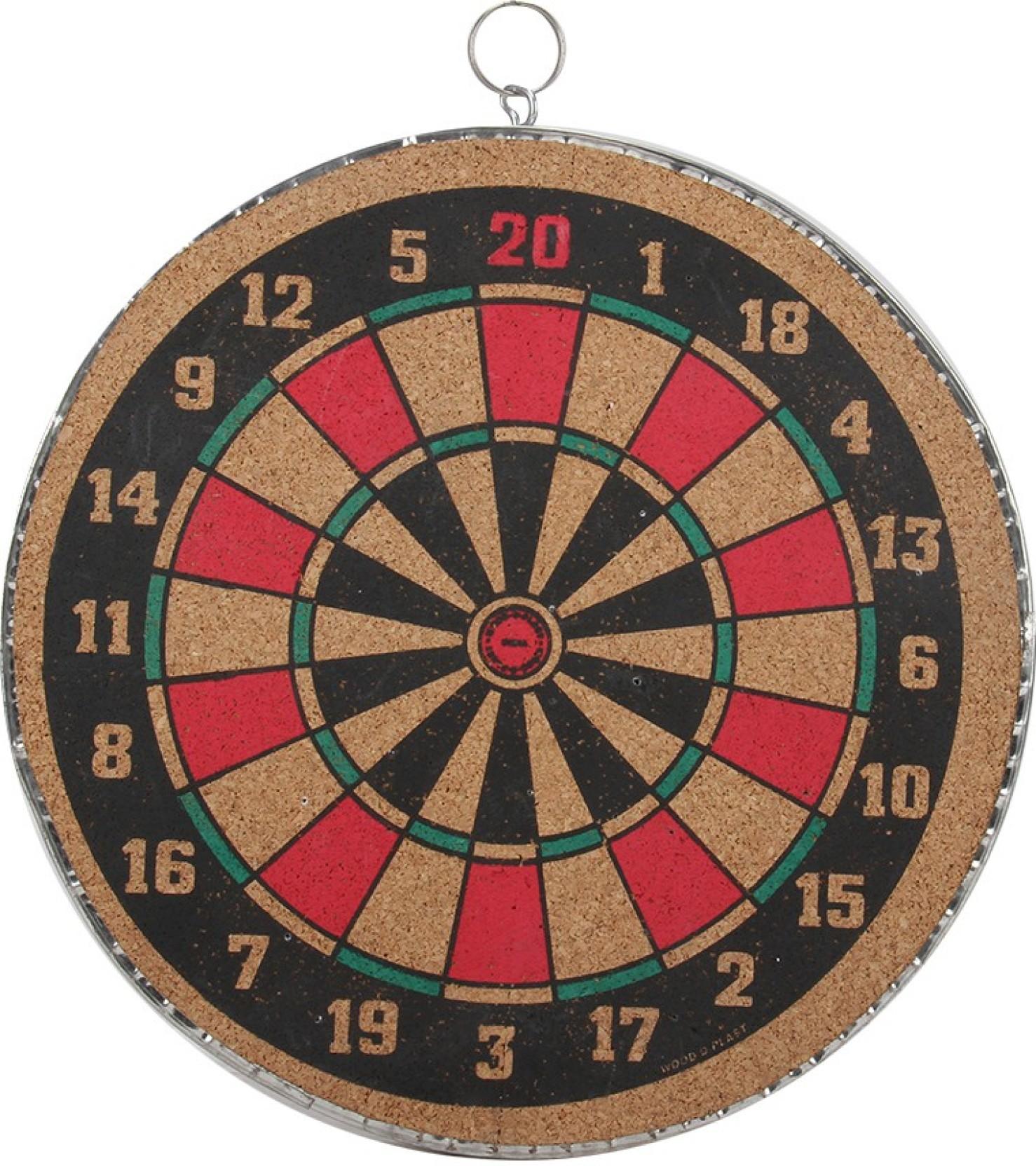 Wood O Plast Dart Board Set 12 Inch