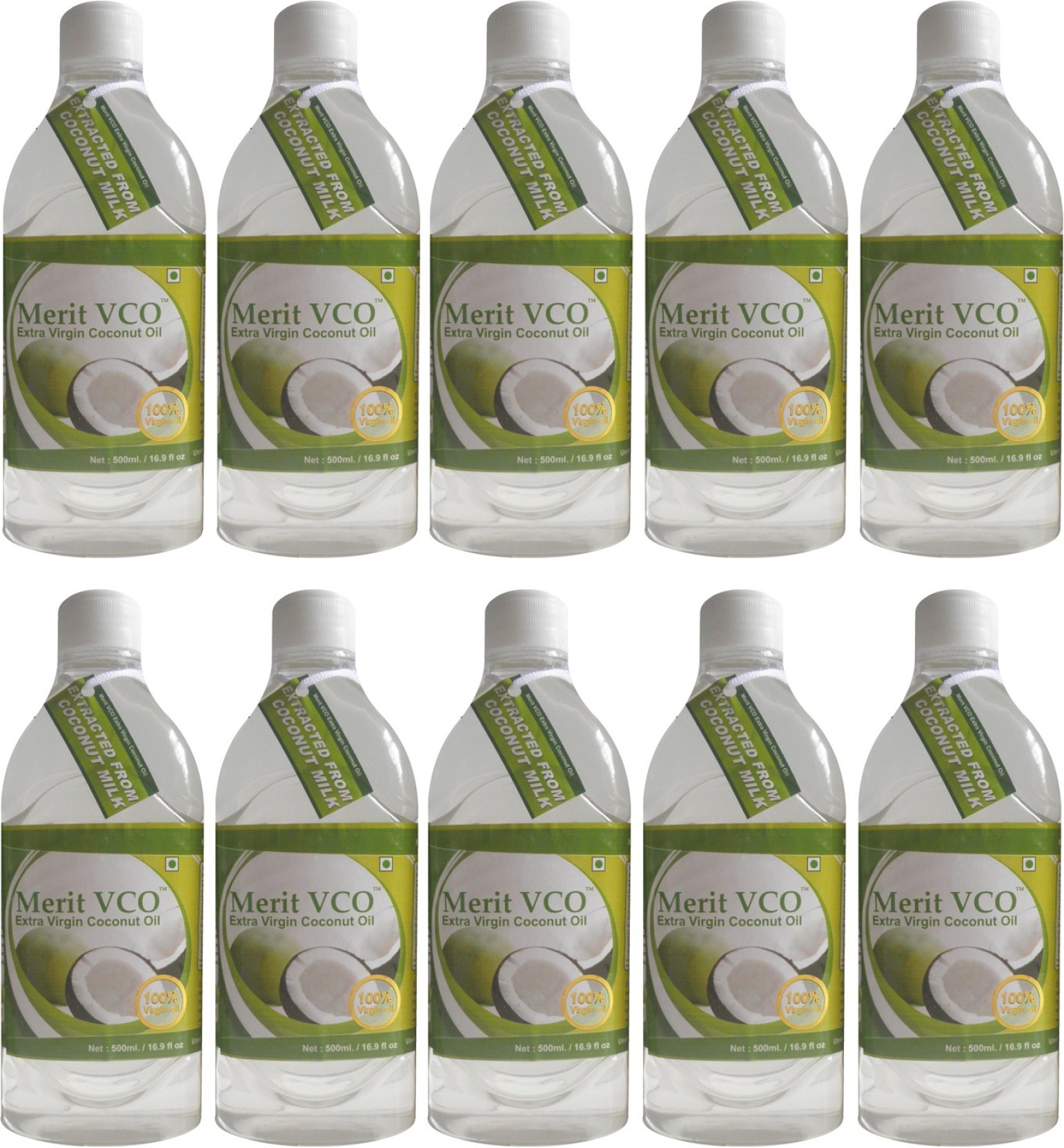 Healthylife Extra Virgin Coconut Oil Vco 100 Organic Cold Pressed Lemonilo 250 Ml Merit Pack Of 10 Share