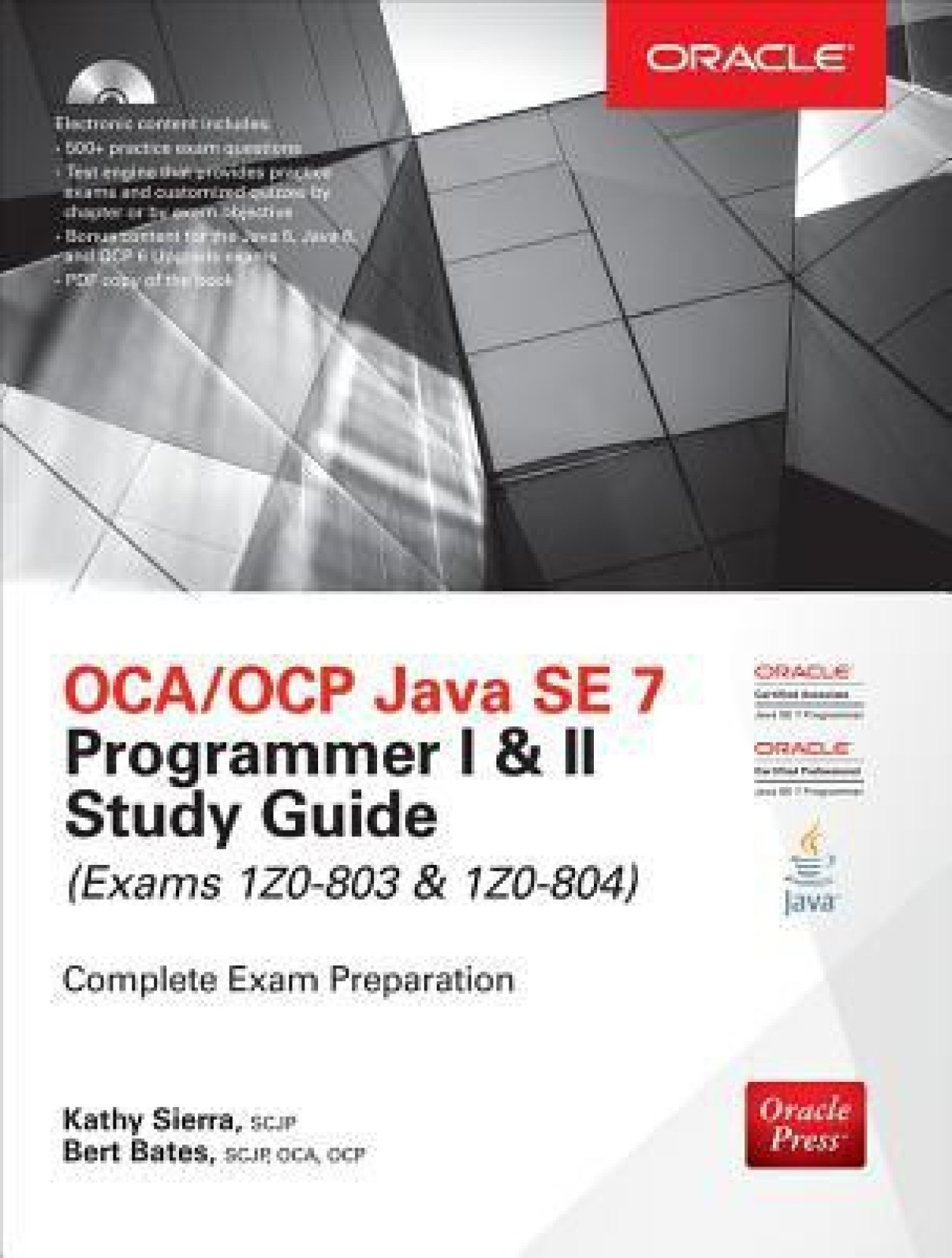 ... Java SE 7 Programmer I & II Study Guide (Exams 1Z0-. Home