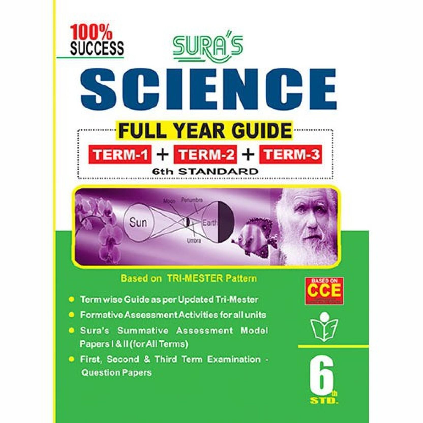 6th Standard Guide Science Full Year English Medium Tamilnadu State Board  Samcheer Syllabu. Share