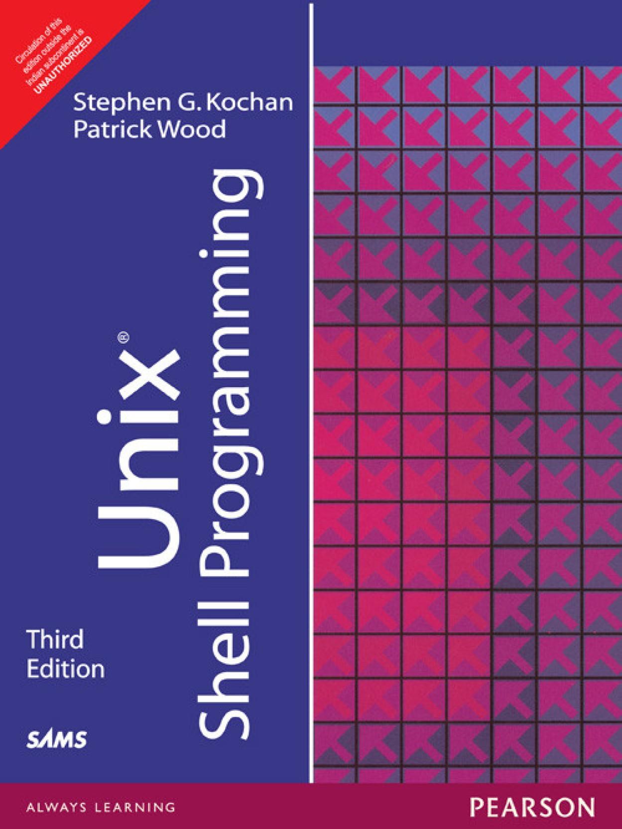 Unix Shell Programming 3rd Edition. ADD TO CART