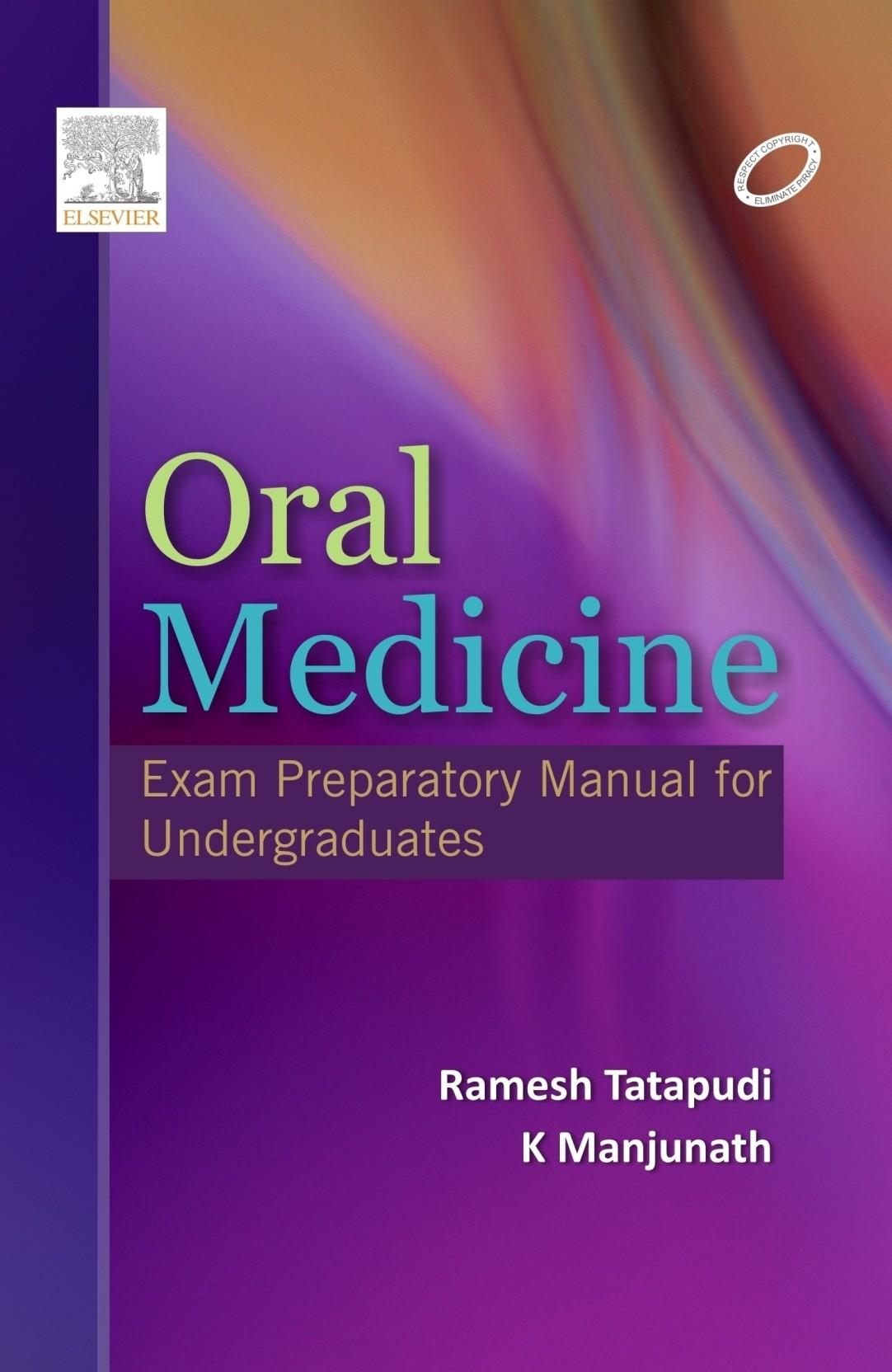 Oral Medicine: Exam Preparatory Manual for Undergraduates. ADD TO CART