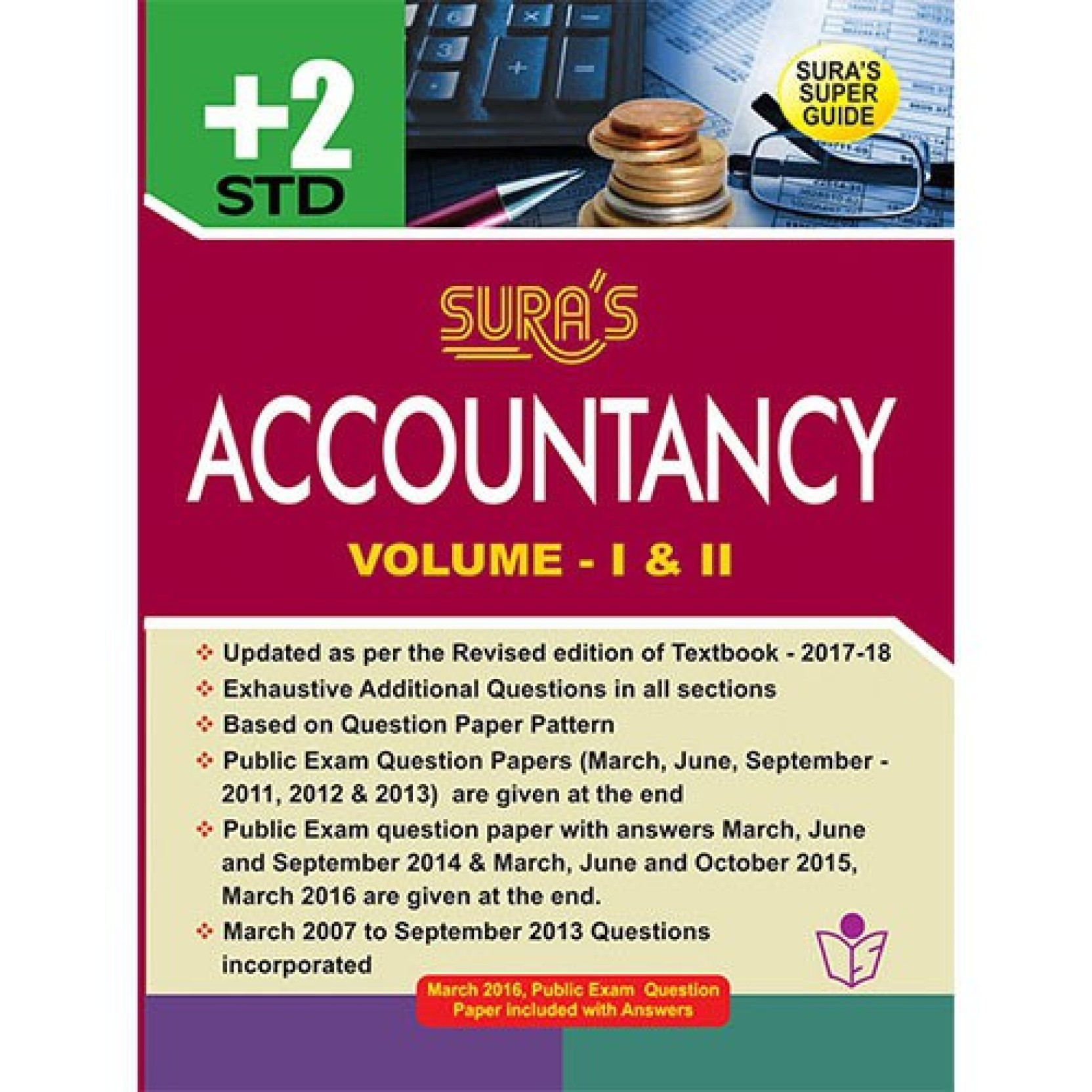 Sura's Accountancy Guide - XII standard. Home
