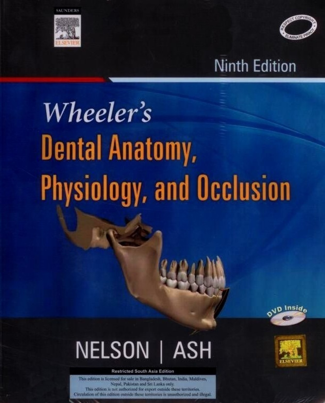 Wheeler\'s Dental Anatomy, Physiology and Occlusion 9th Edition - Buy ...
