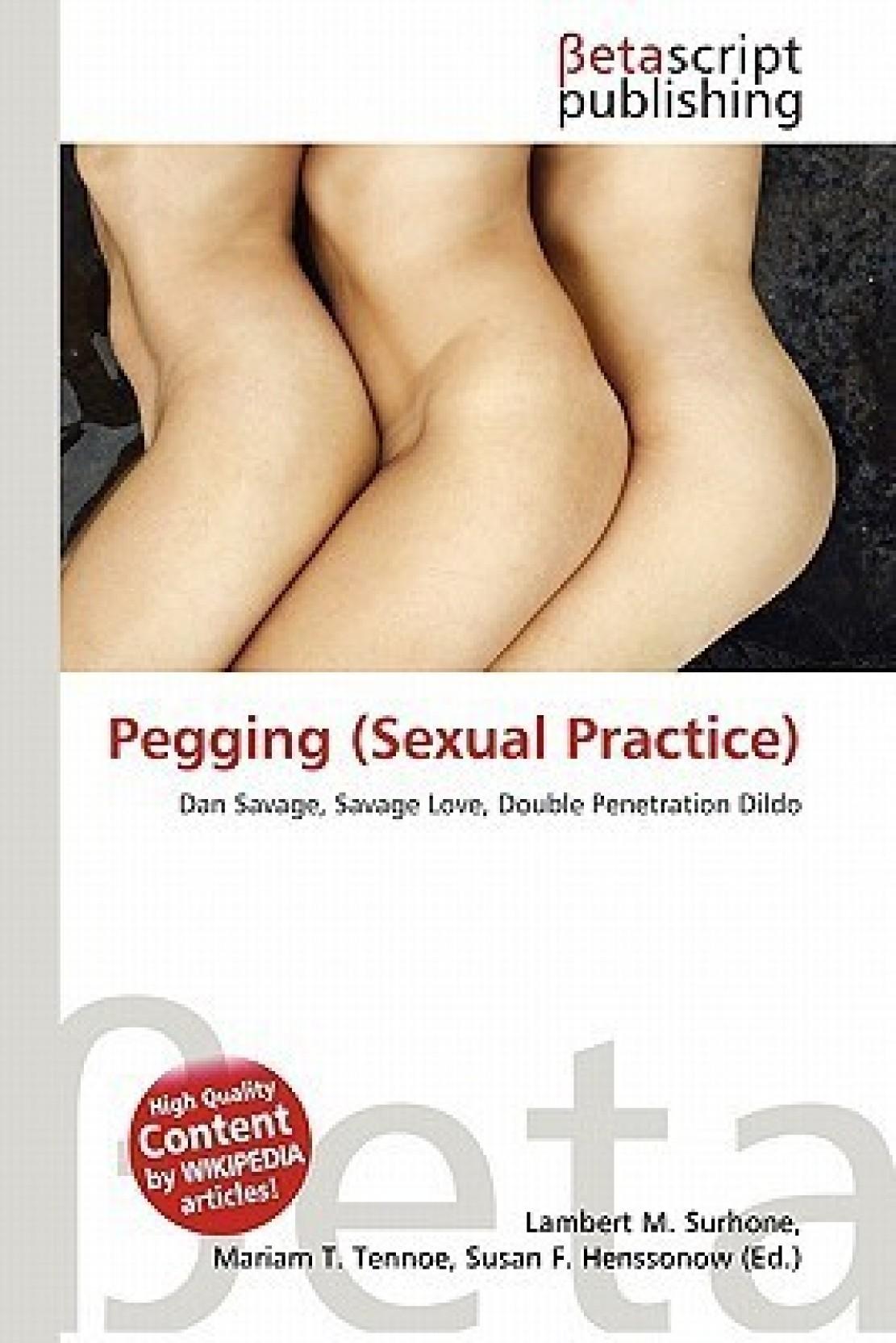 Pegging sex literature