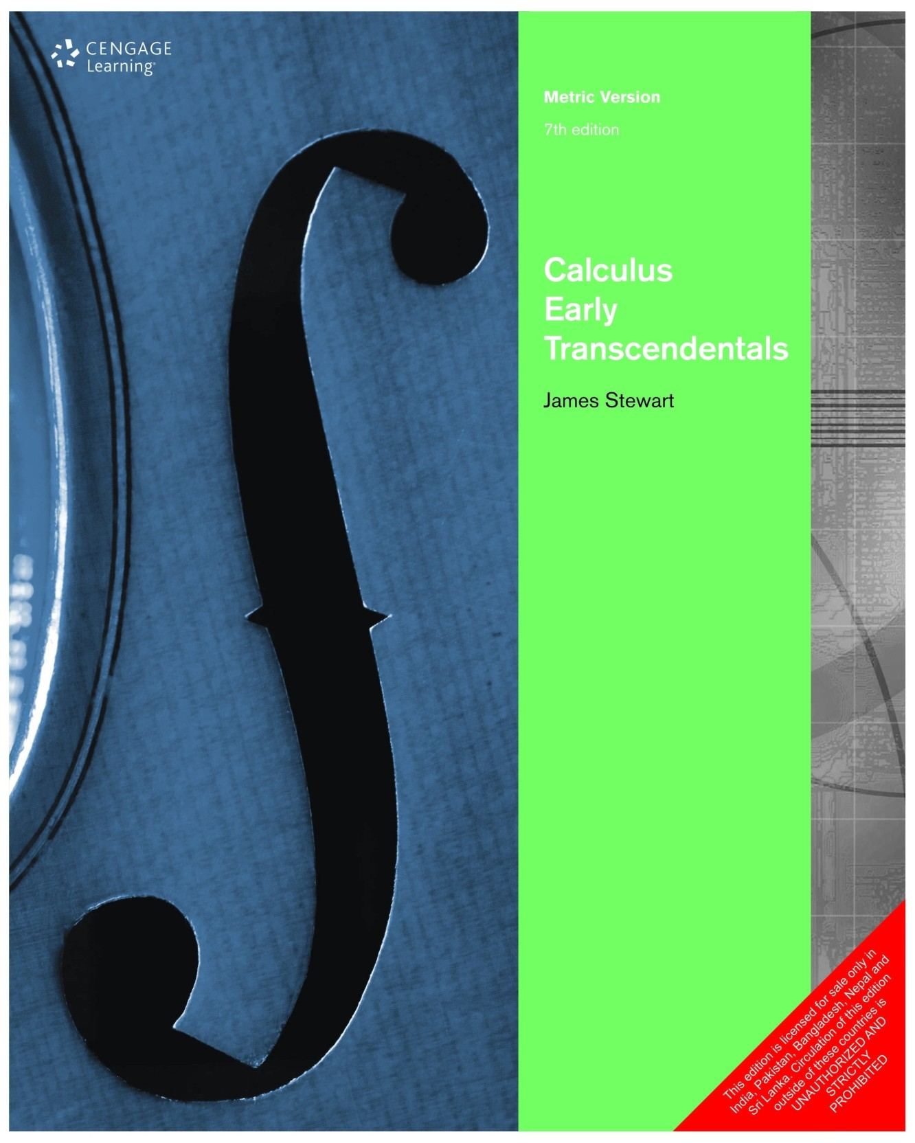 Calculus - Early Transcendentals 7th Edition. ADD TO CART