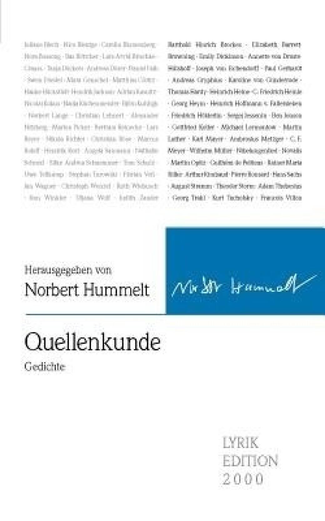 Quellenkunde Gedichte Buy Quellenkunde Gedichte By
