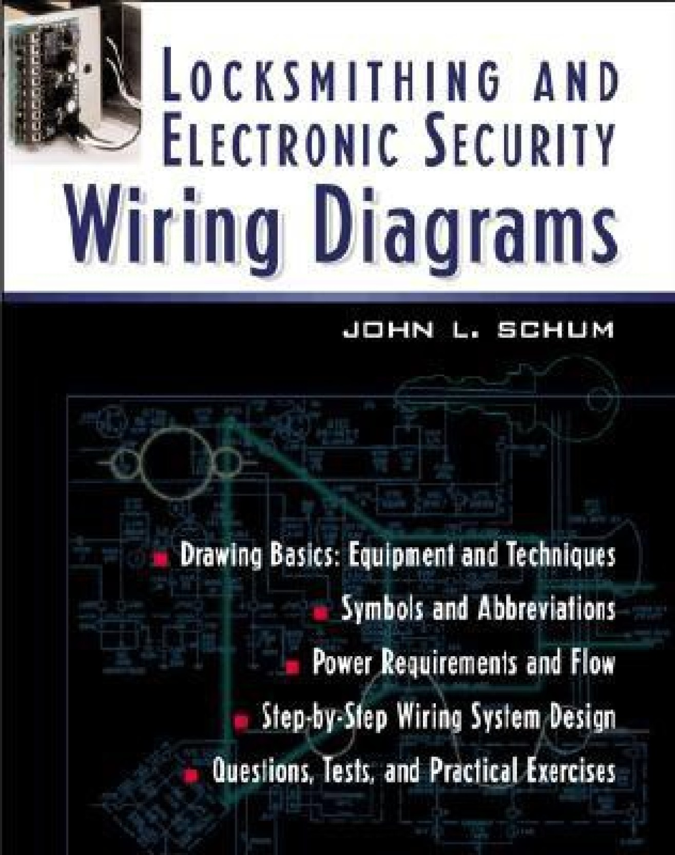 Locksmithing And Electronic Security Wiring Diagrams Buy Electronics Circuits Symbols Standardized Diagram Schematic Add To Cart