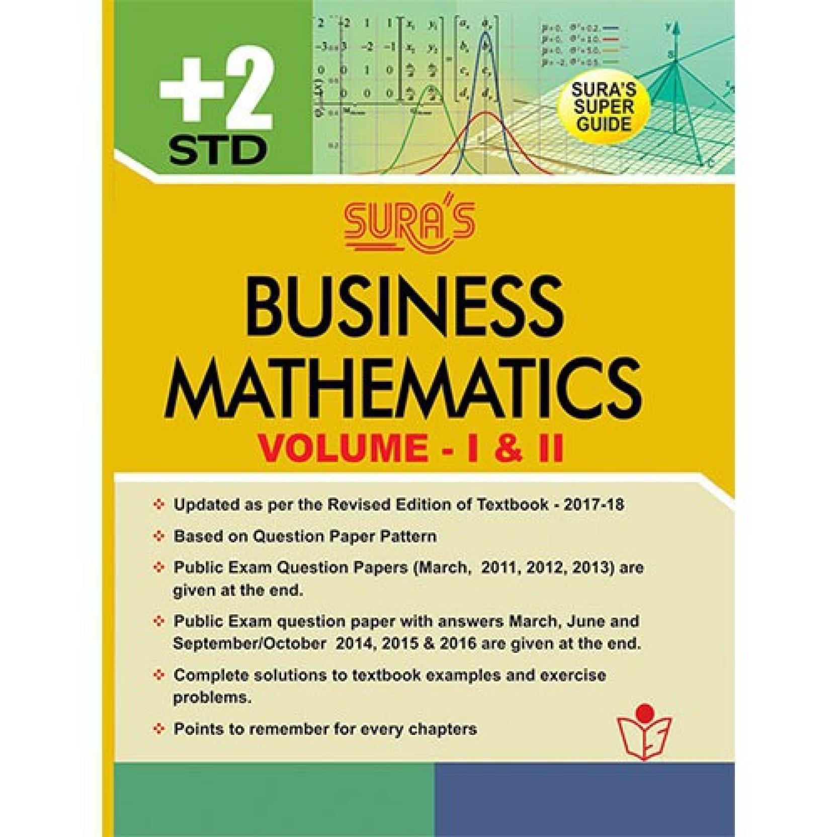 Business Mathematics XII Standard Guide. Home