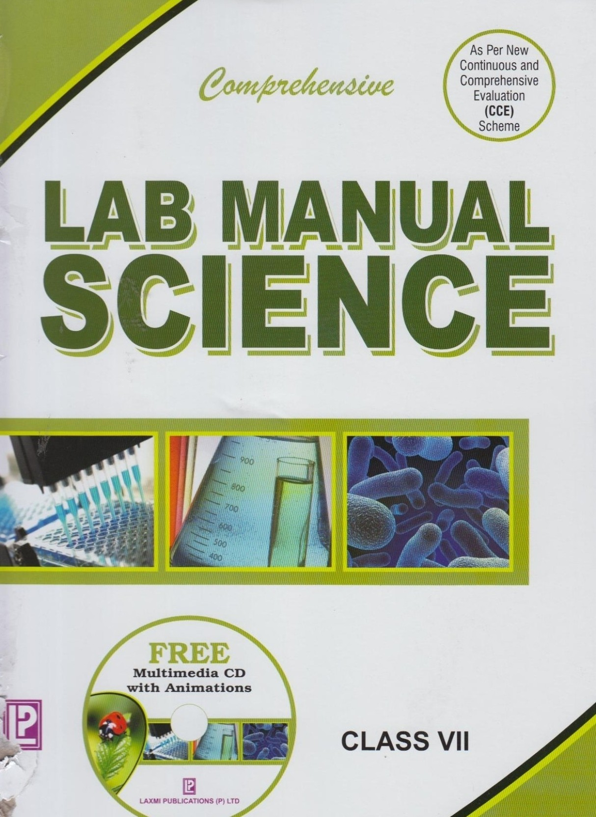 Comprehensive Lab Manual Science (Class 7). ADD TO CART