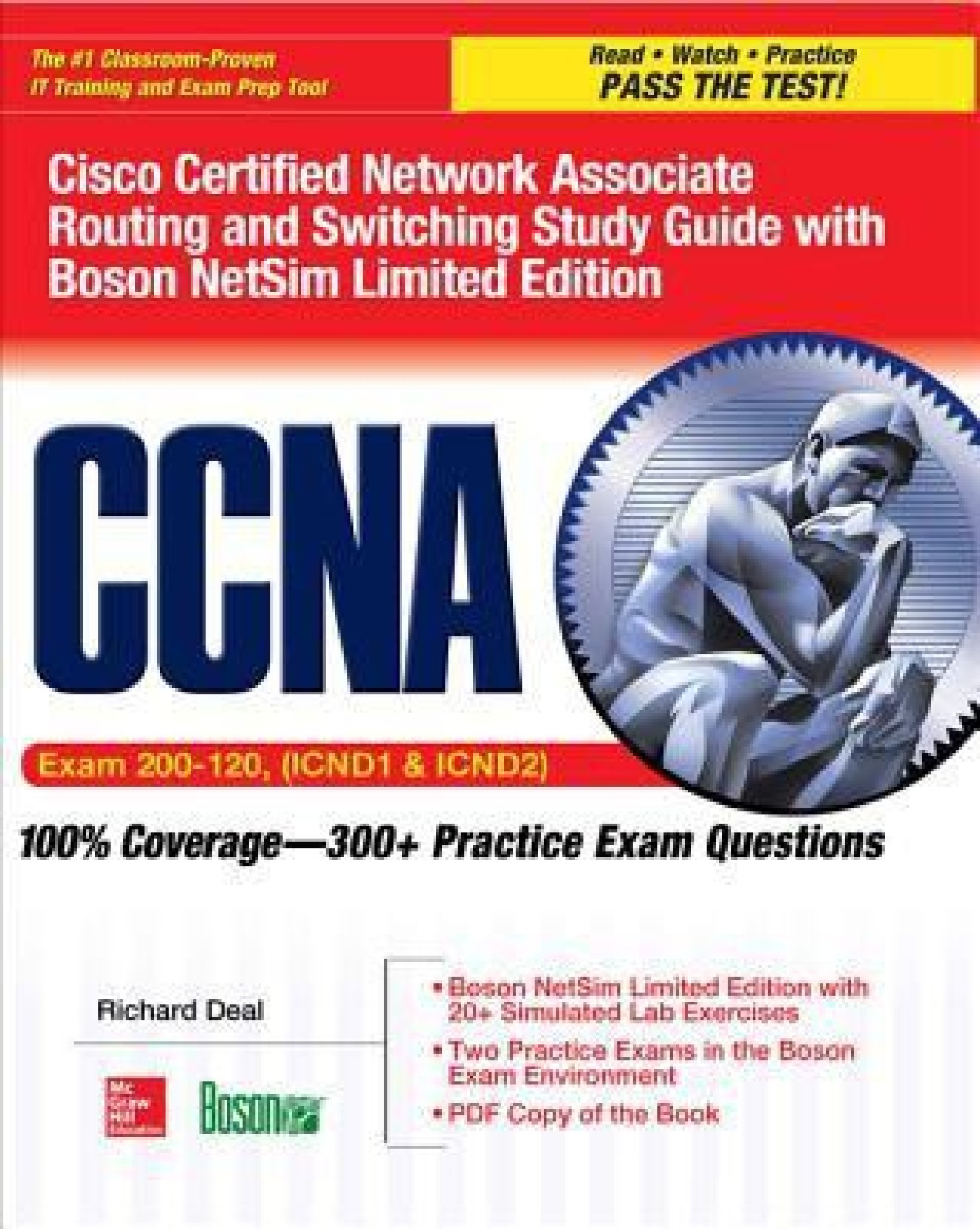 CCNA Cisco Certified Network Associate Routing and Switching Study Guide  (Exams 200-120,. ADD TO CART