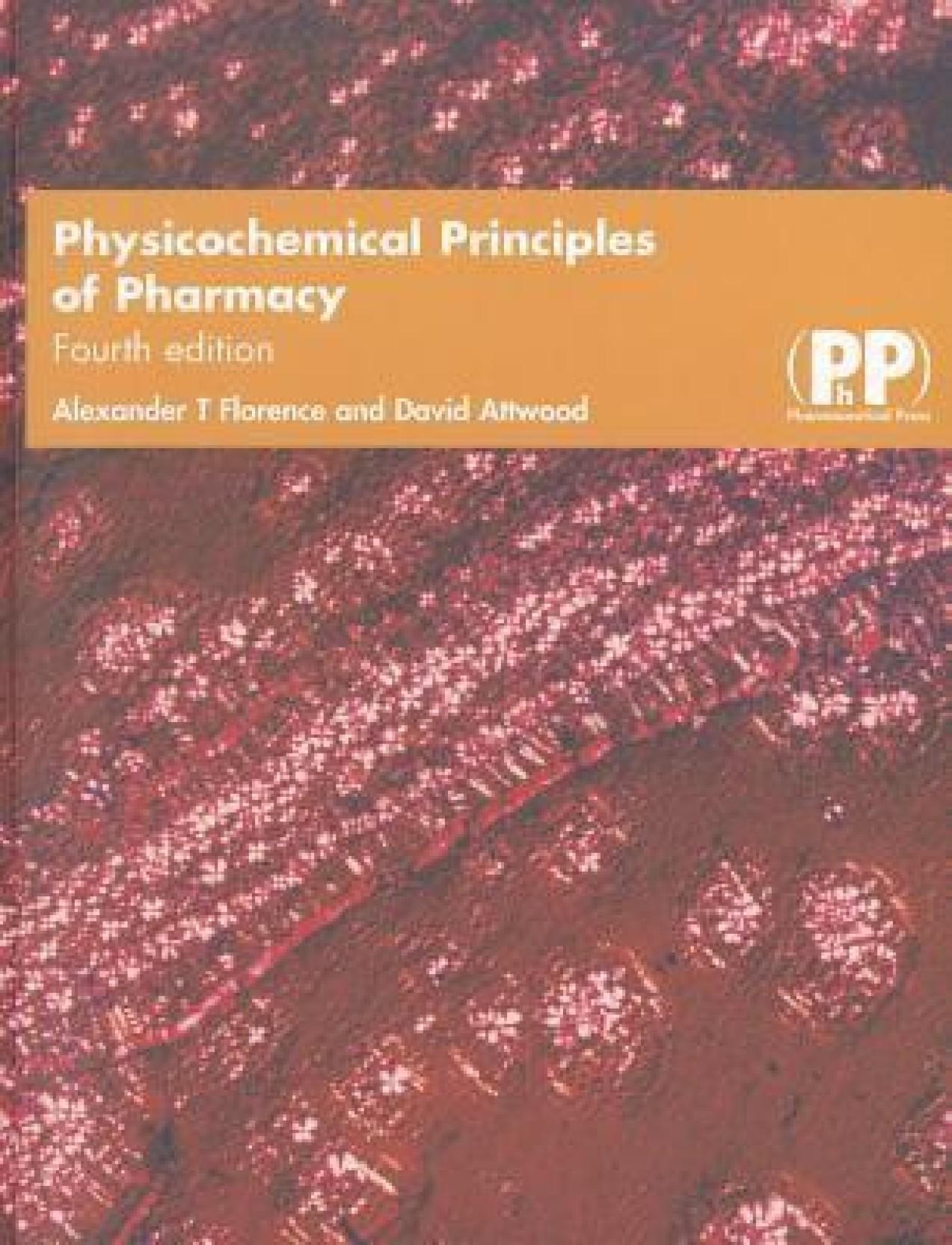 Florence alexander physicochemical principles pharmacy abebooks.