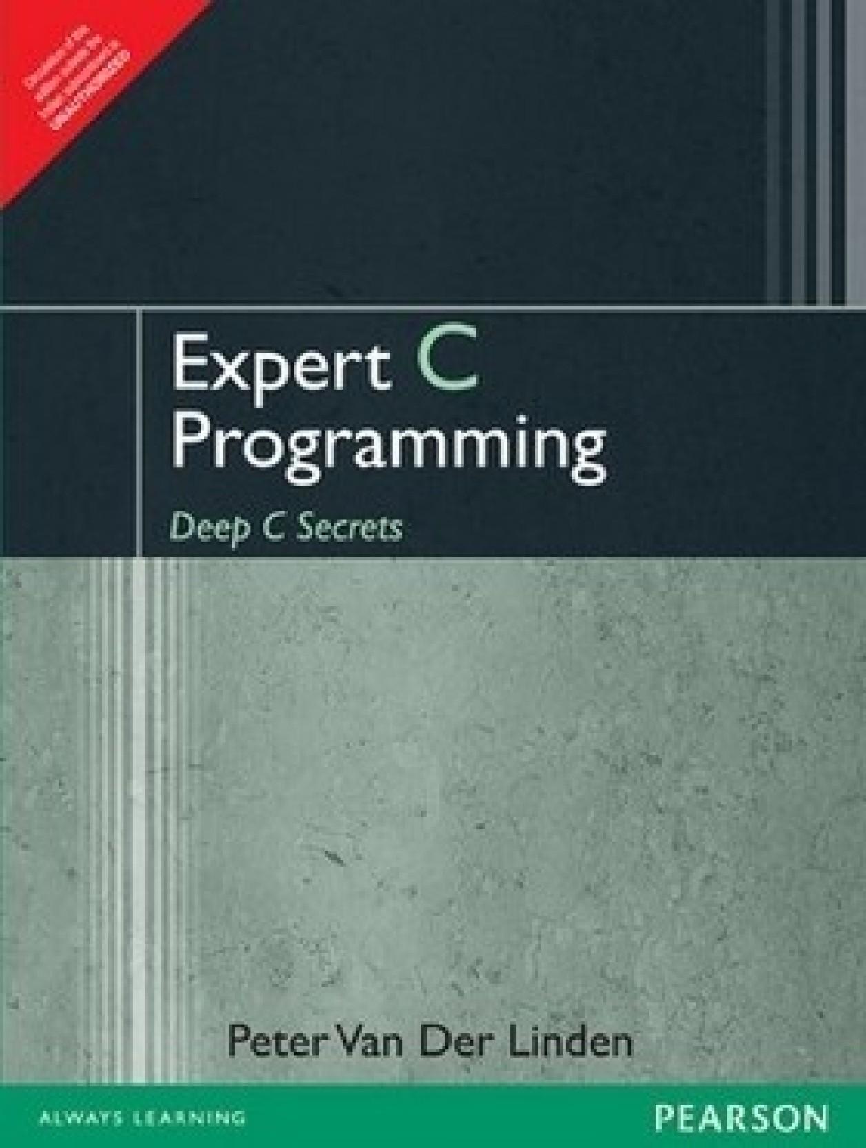 Expert c programming deep c secrets 1st edition buy Ansi c compiler online