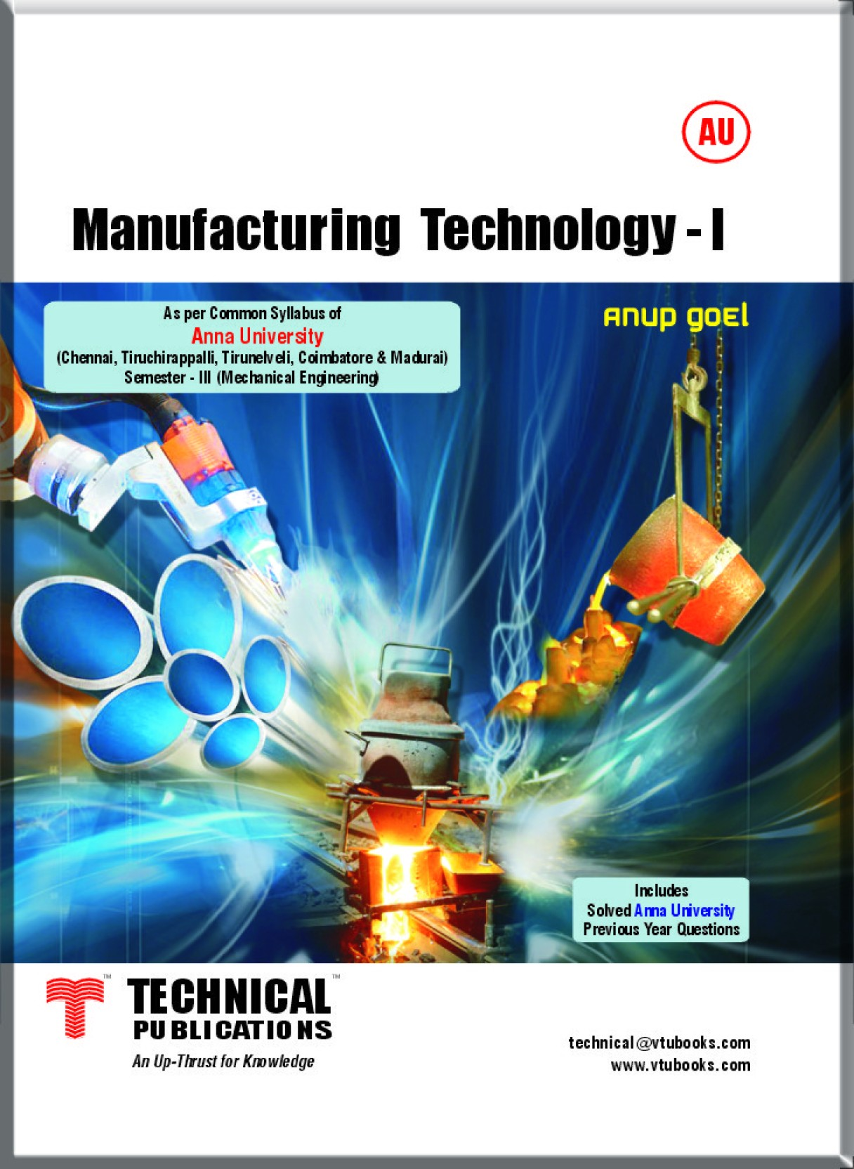 Manufacturing Technology - I for Anna University: Buy Manufacturing
