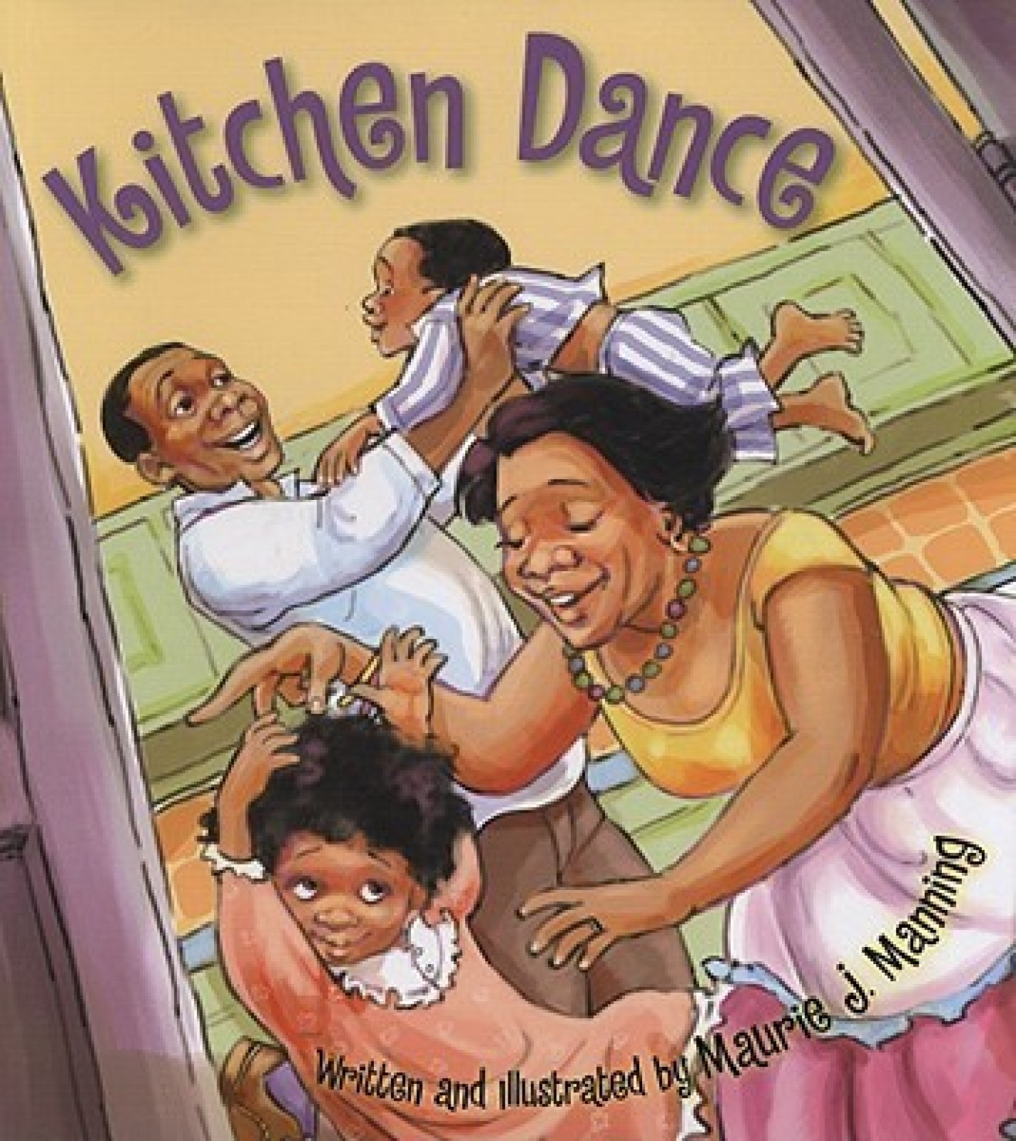 Kitchen dance english hardcover manning maurie j manning
