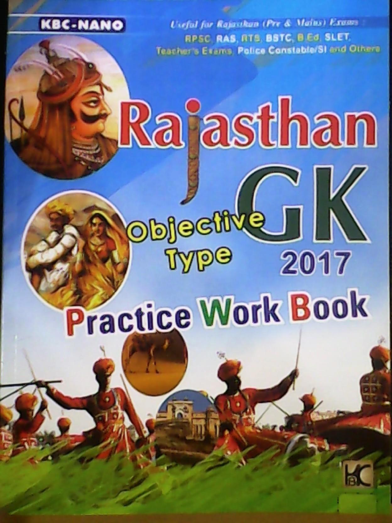 Rajasthan G.k Book