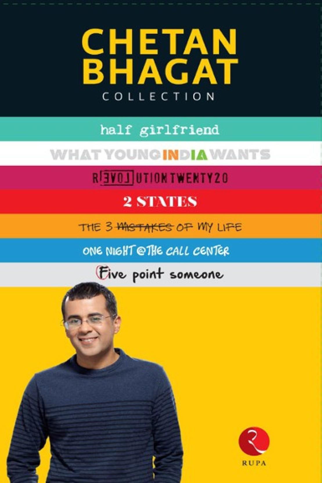 Best Novels Written by Chetan Bhagat