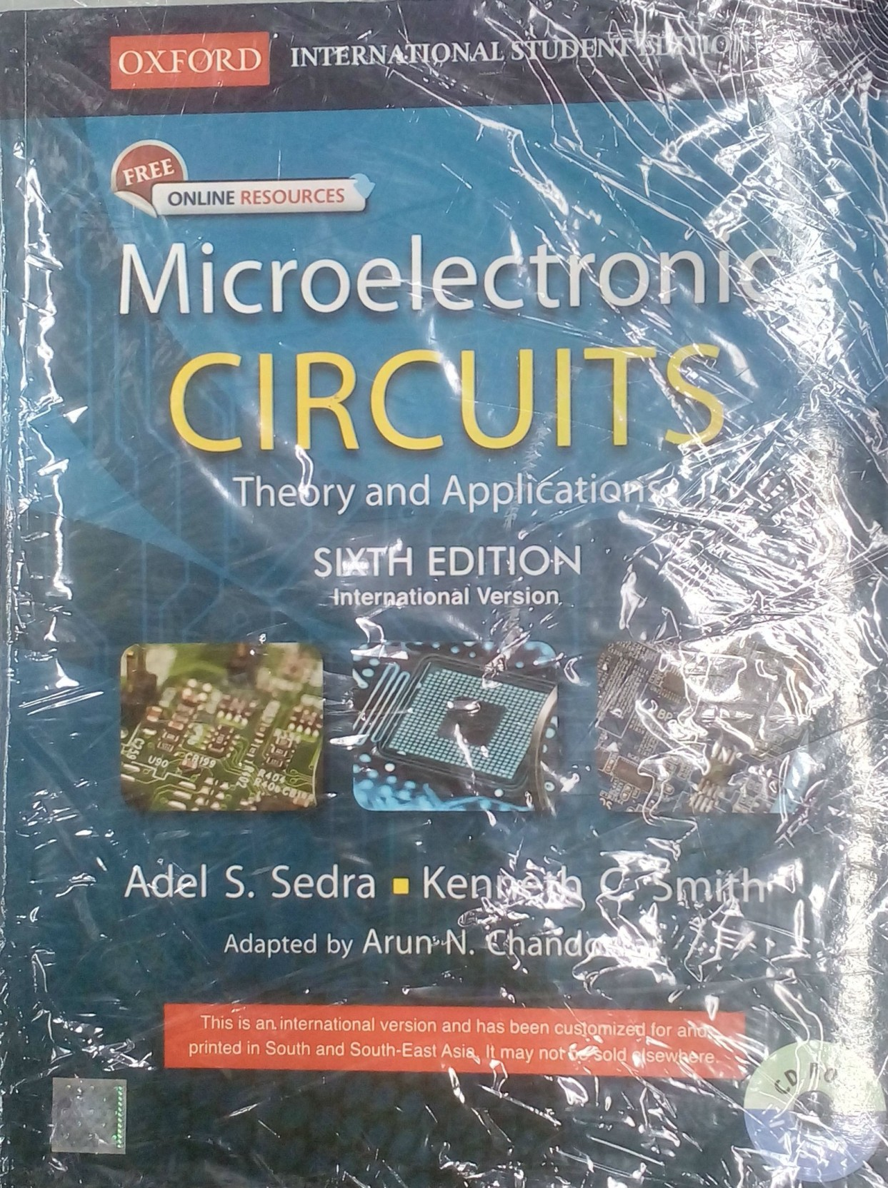 Microelectronic Circuits: Theory and Applications 6th Edition. ADD TO CART