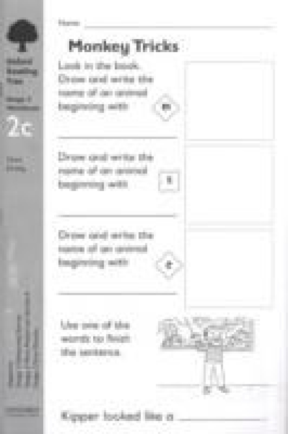 Workbooks oxford reading tree workbooks : Oxford Reading Tree: Level 2: Workbooks: Workbook 2c (Pack of 6 ...