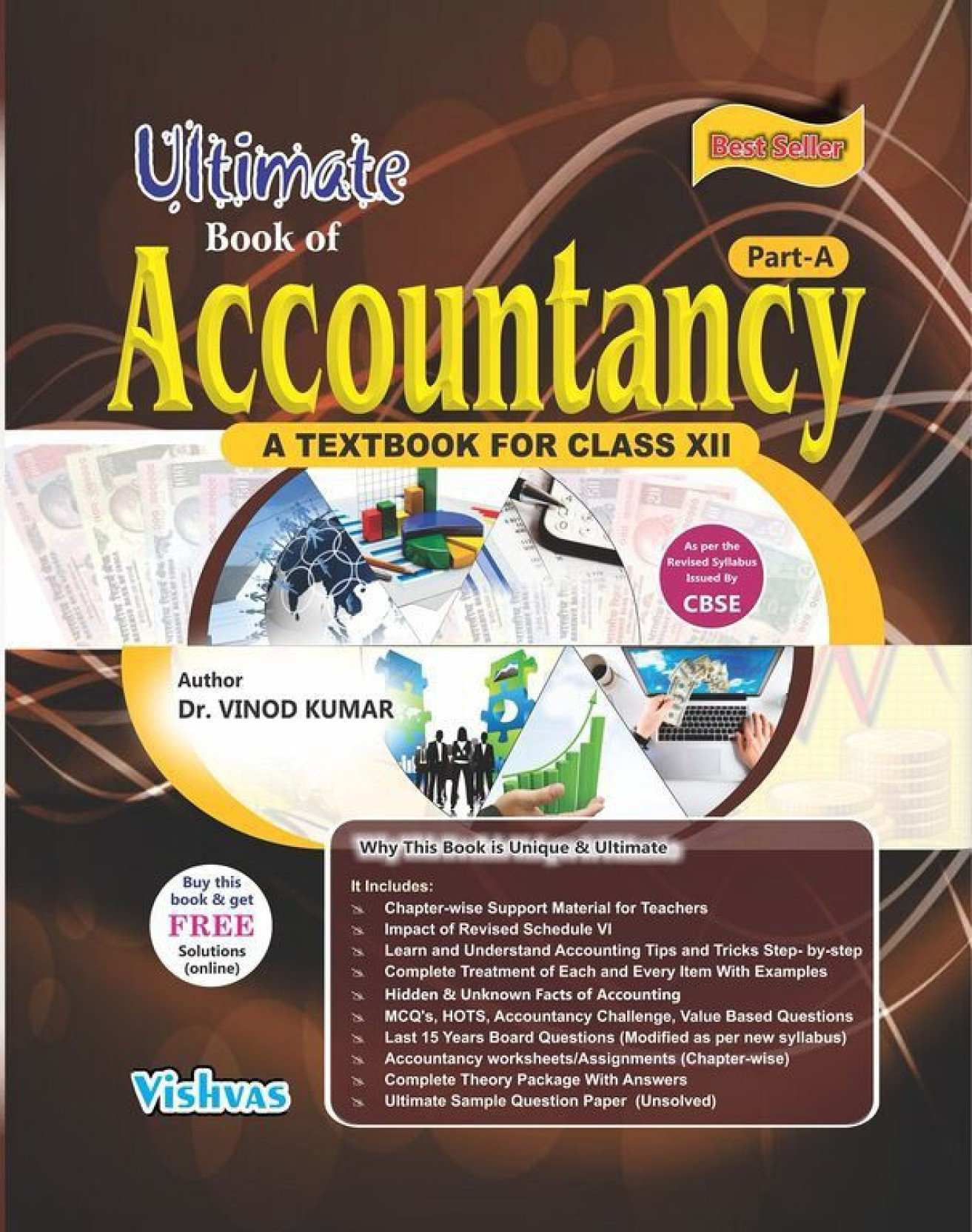 Ultimate book of accountancy(Part-A) class 12. ADD TO CART