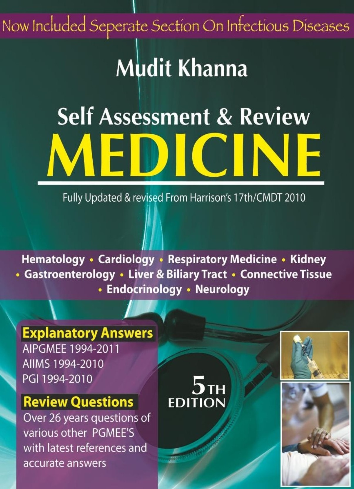 SELF ASSESSMENT & REVIEW MEDICINE,4/E,2009 5th Edition: Buy